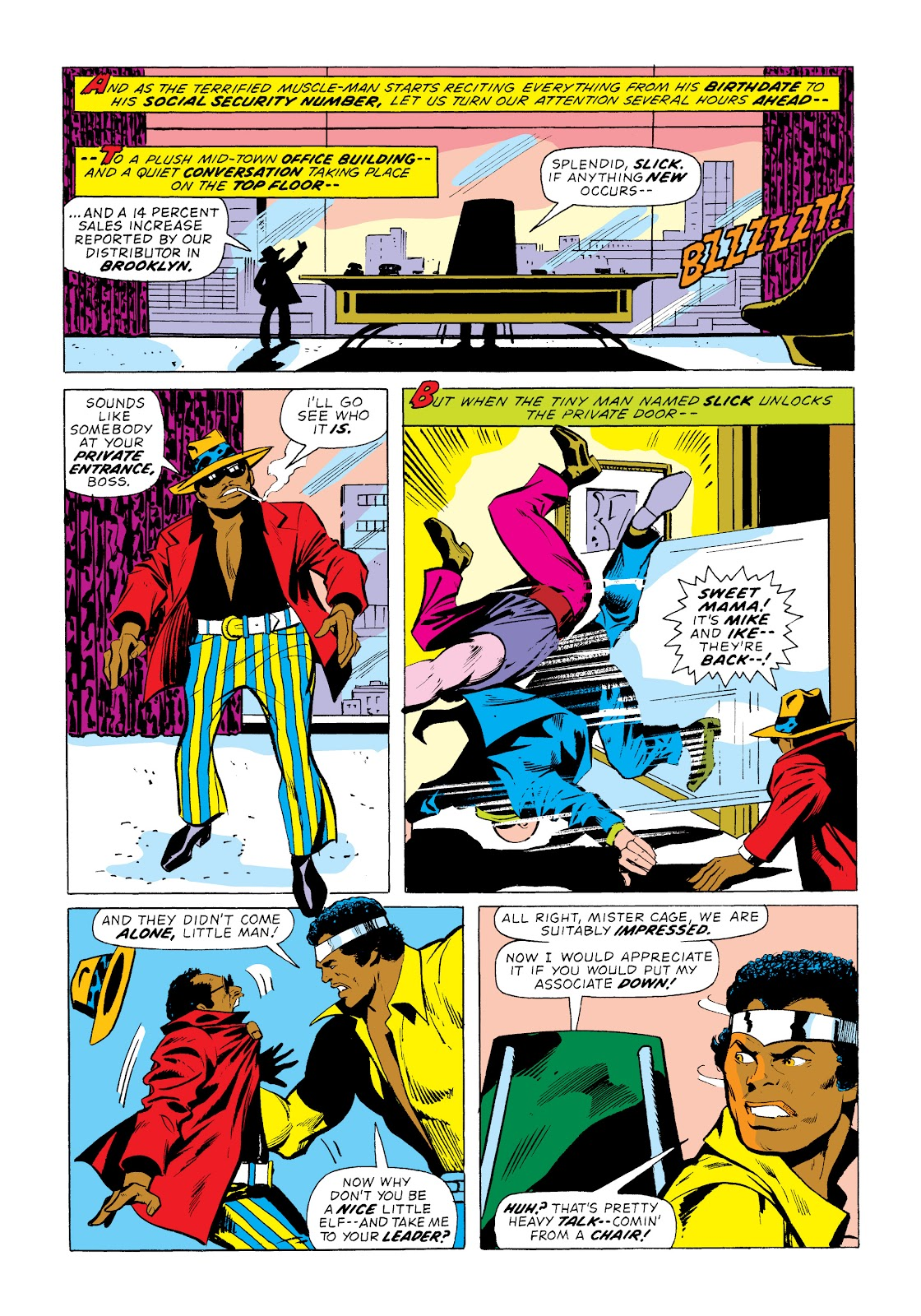 Read online Marvel Masterworks: Luke Cage, Power Man comic -  Issue # TPB 2 (Part 1) - 56