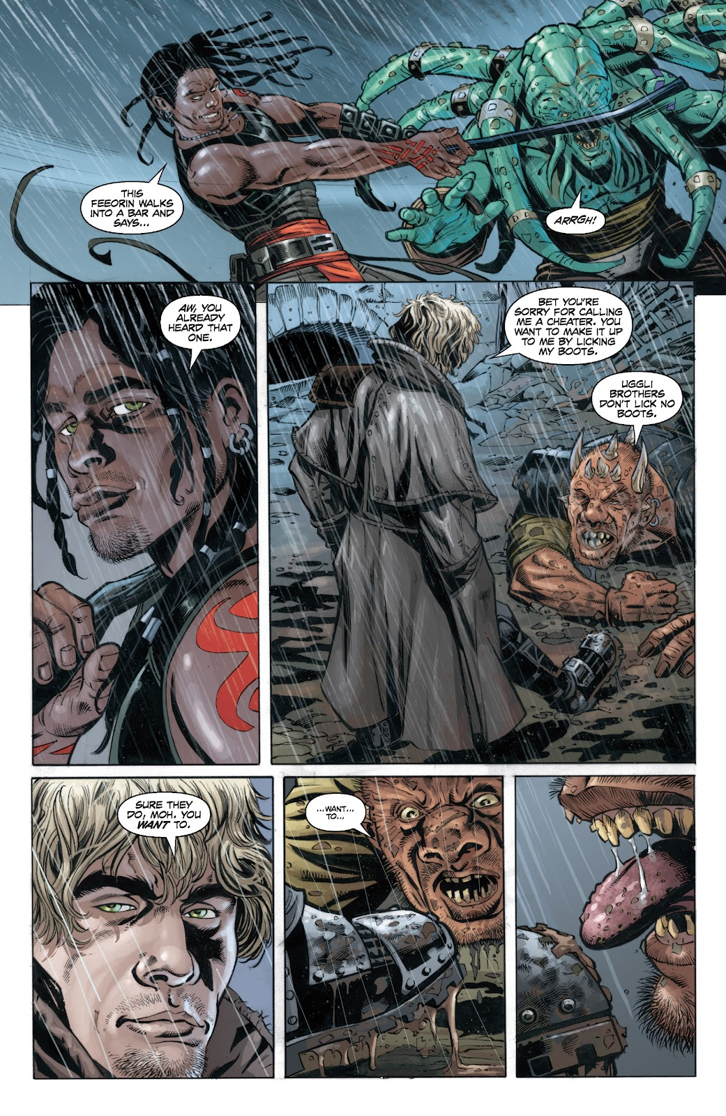 Read online Star Wars Legends: Legacy - Epic Collection comic -  Issue # TPB 2 (Part 4) - 70