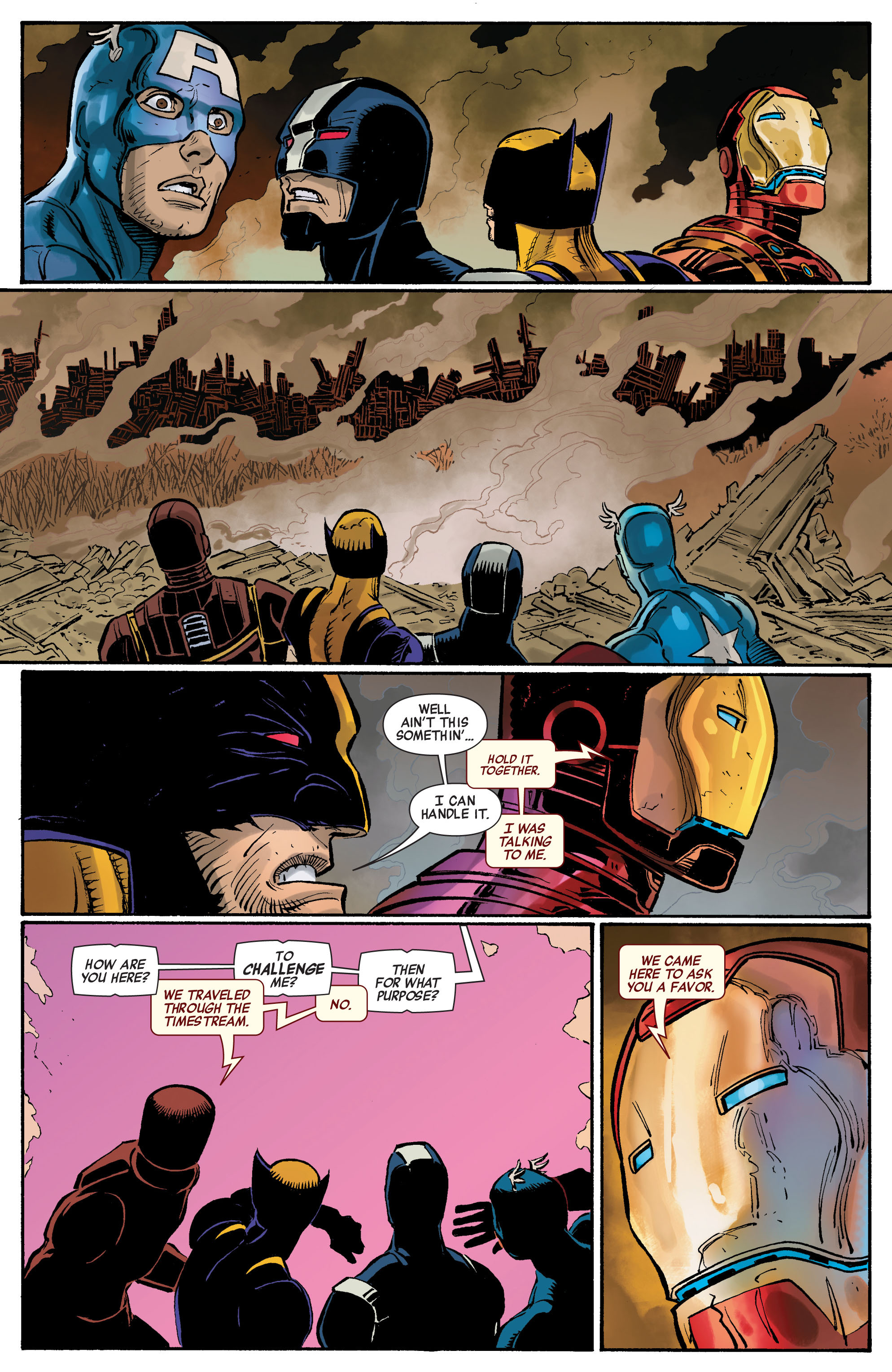 Read online Avengers (2010) comic -  Issue #5 - 17