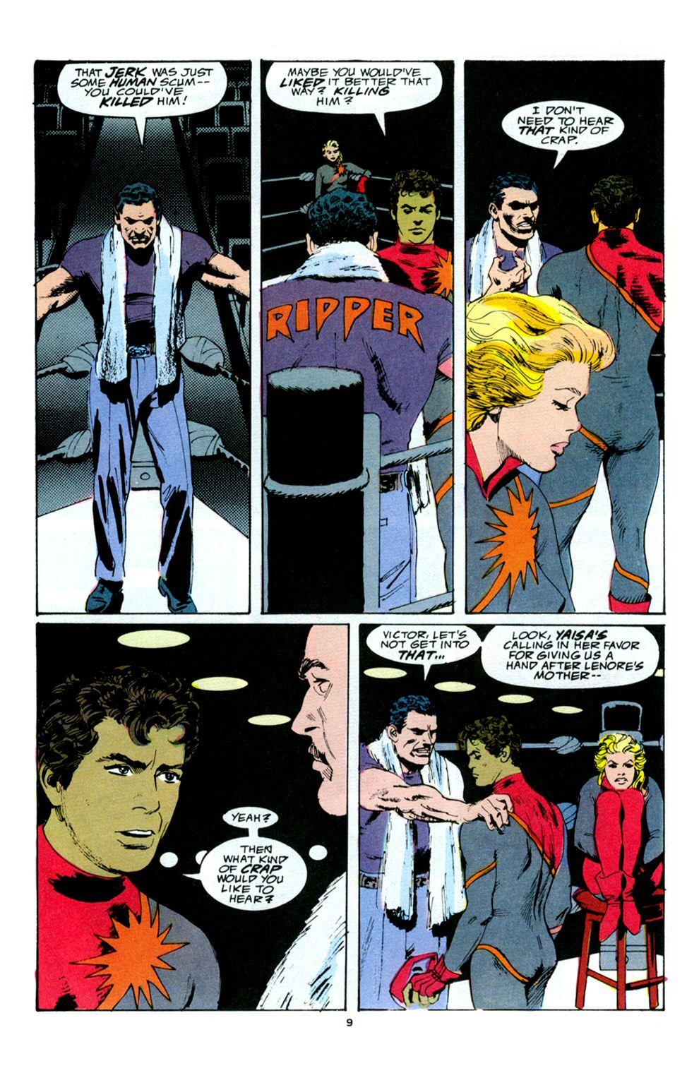 Read online Powerline comic -  Issue #5 - 11
