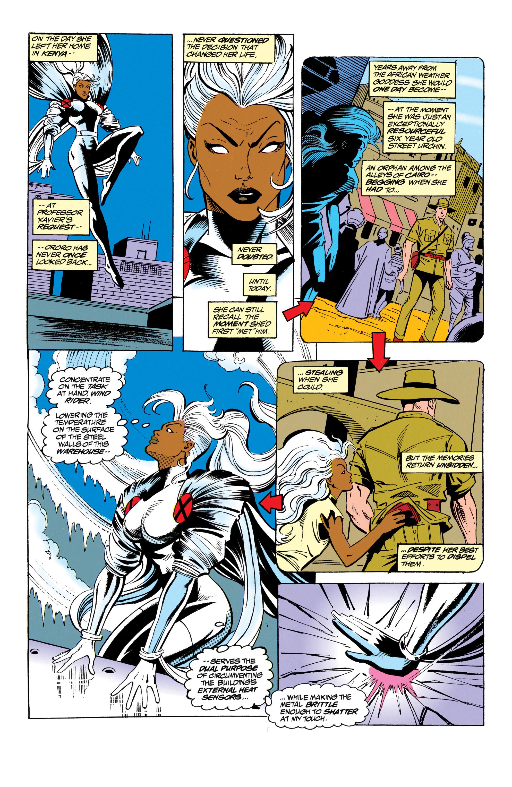 Read online Uncanny X-Men (1963) comic -  Issue #305 - 18