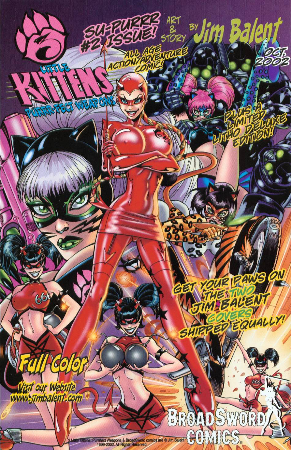 Read online 3 Little Kittens: Purrr-fect Weapons comic -  Issue #1 - 27