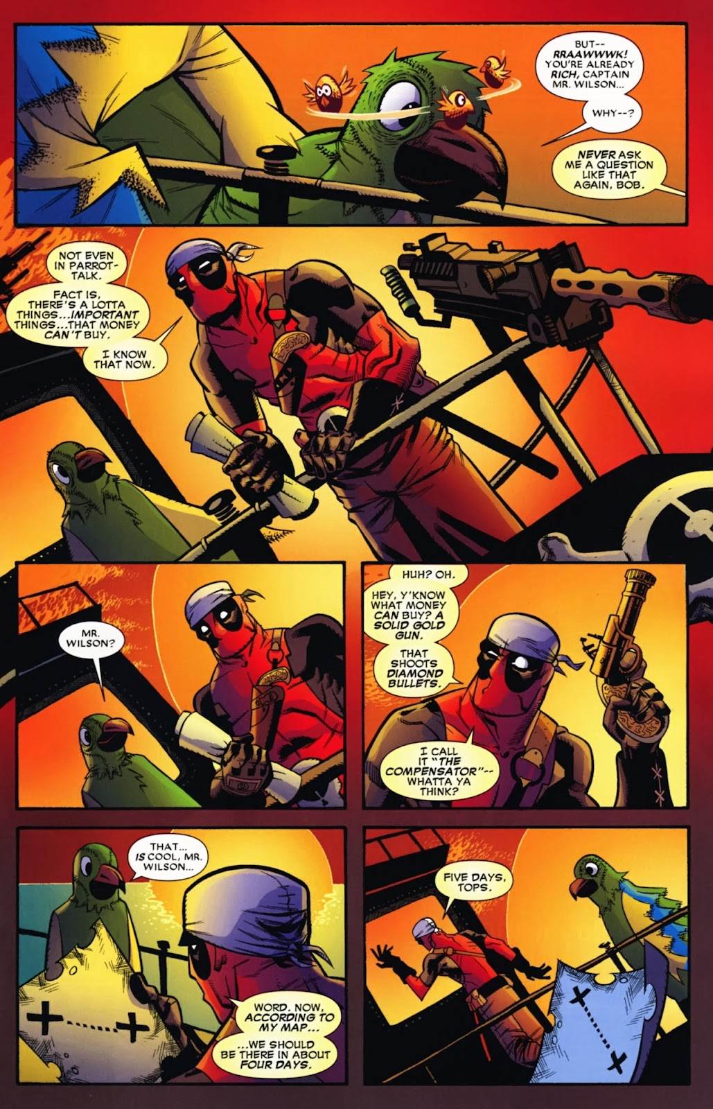 Read online Deadpool (2008) comic -  Issue #13 - 15