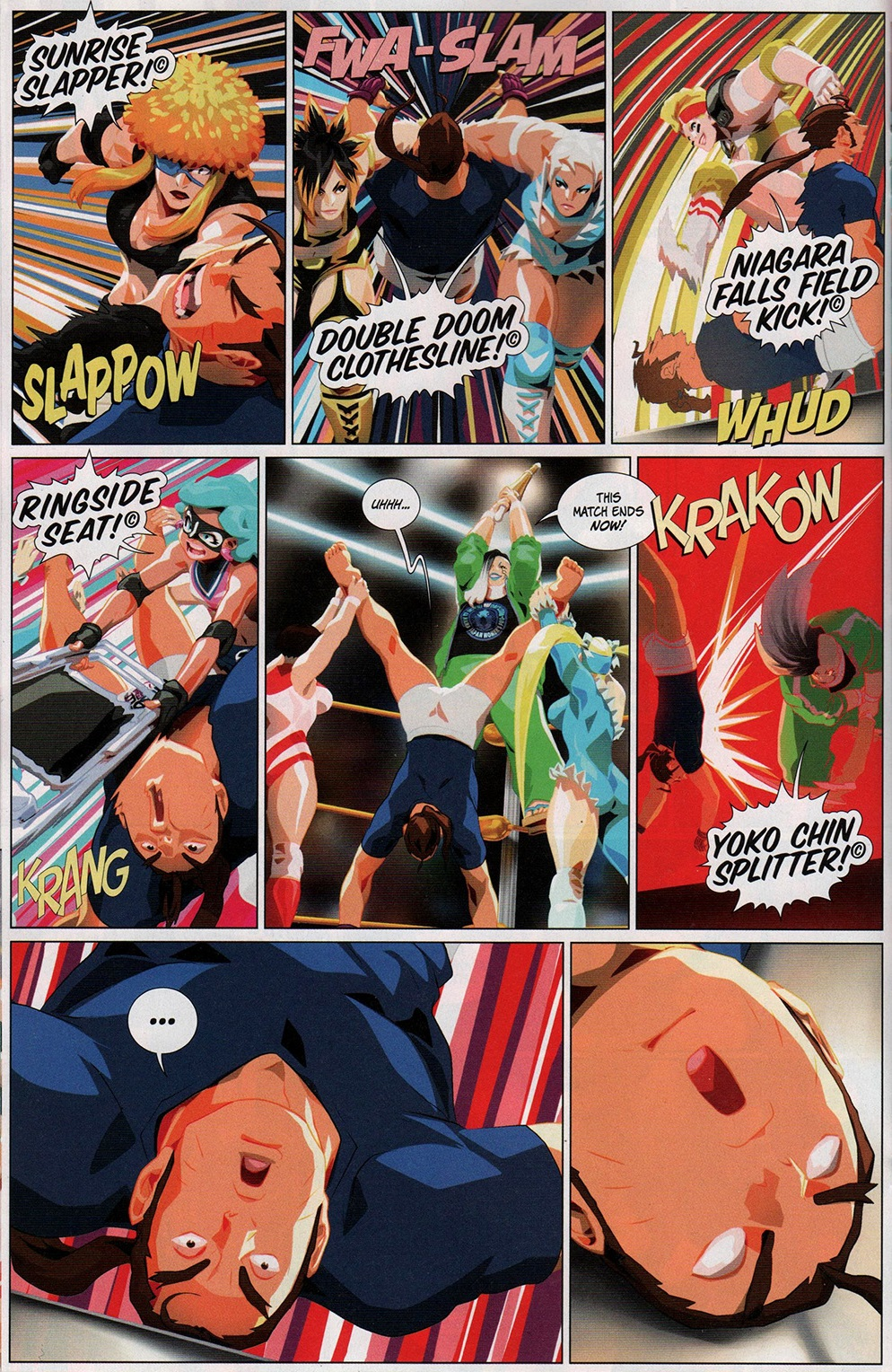 Read online Free Comic Book Day 2017 comic -  Issue # Street Fighter V - Wrestling Special - 18