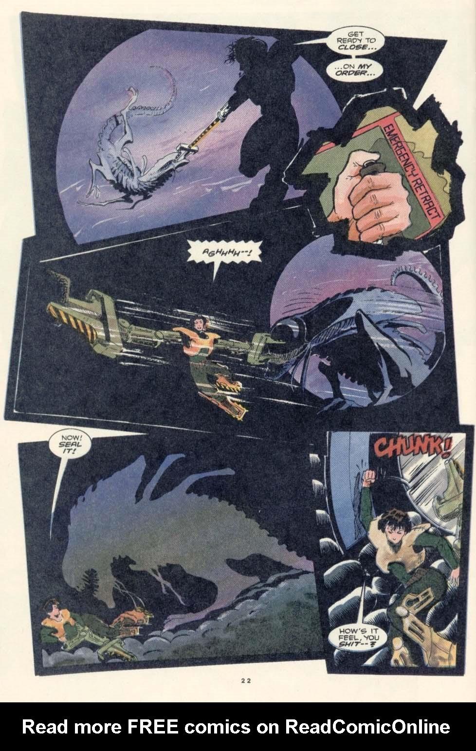 Read online Aliens: Earth War comic -  Issue #3 - 24