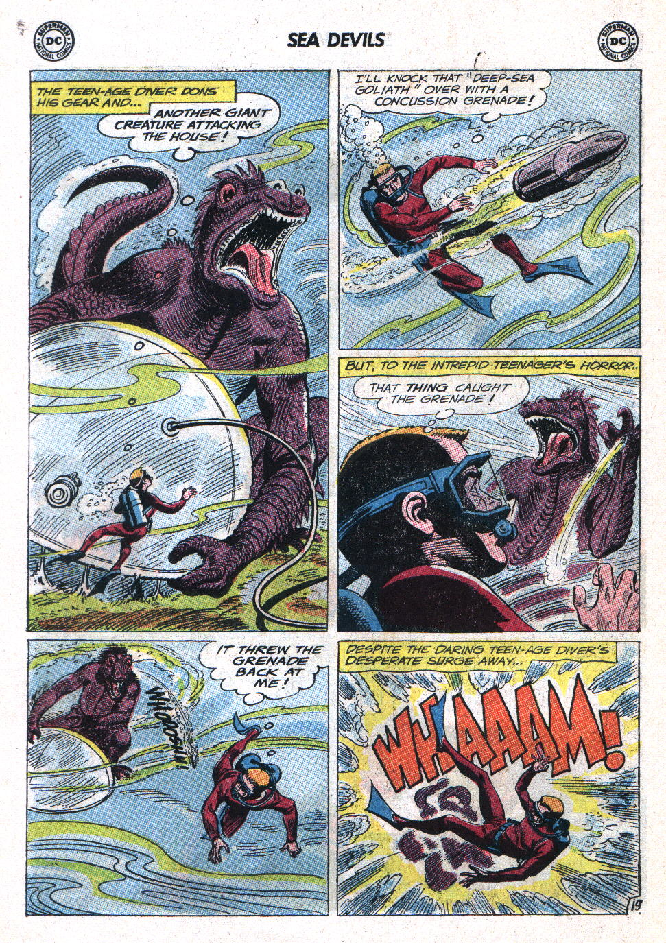 Read online Sea Devils comic -  Issue #11 - 26
