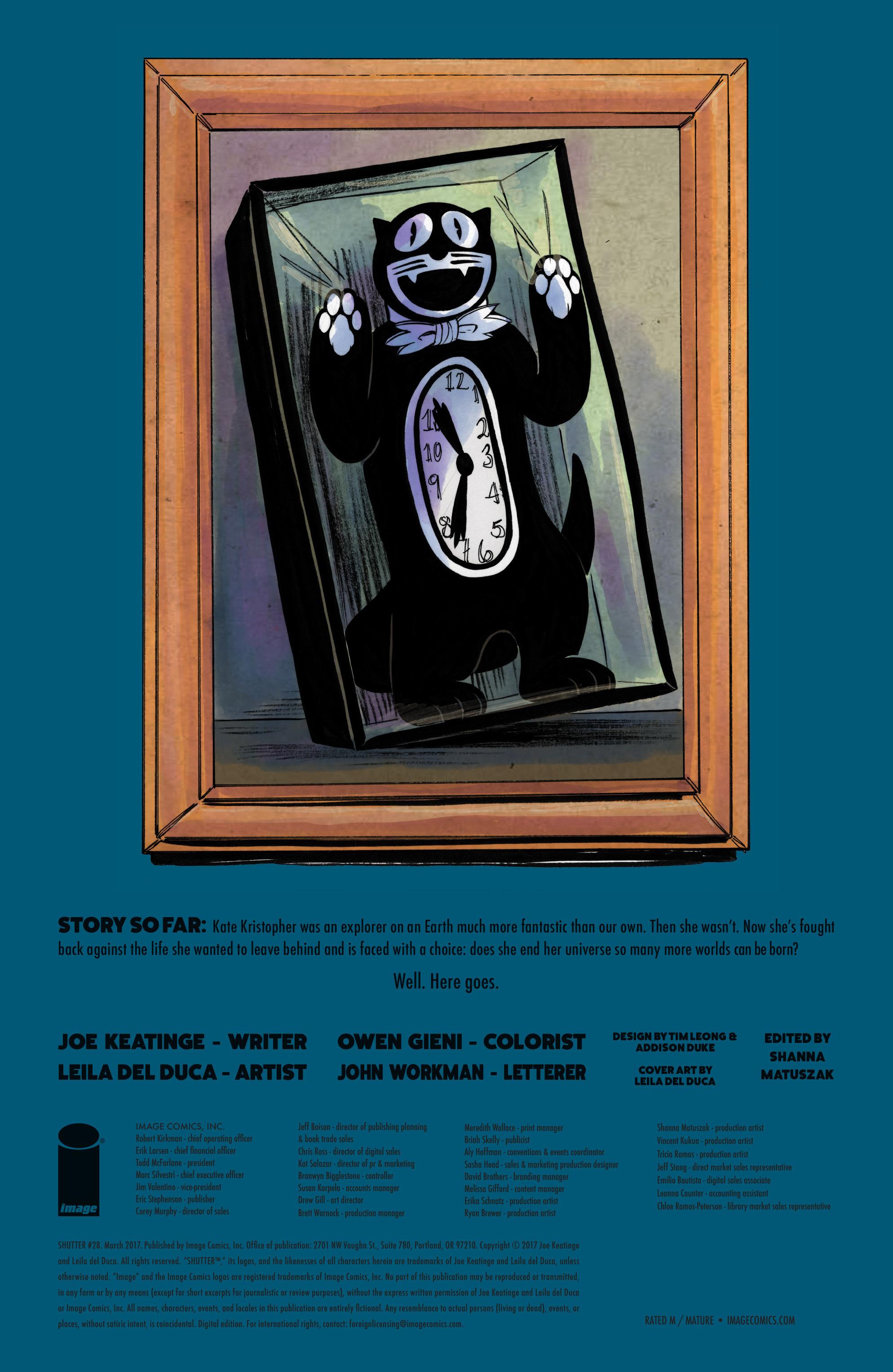 Read online Shutter comic -  Issue #28 - 31