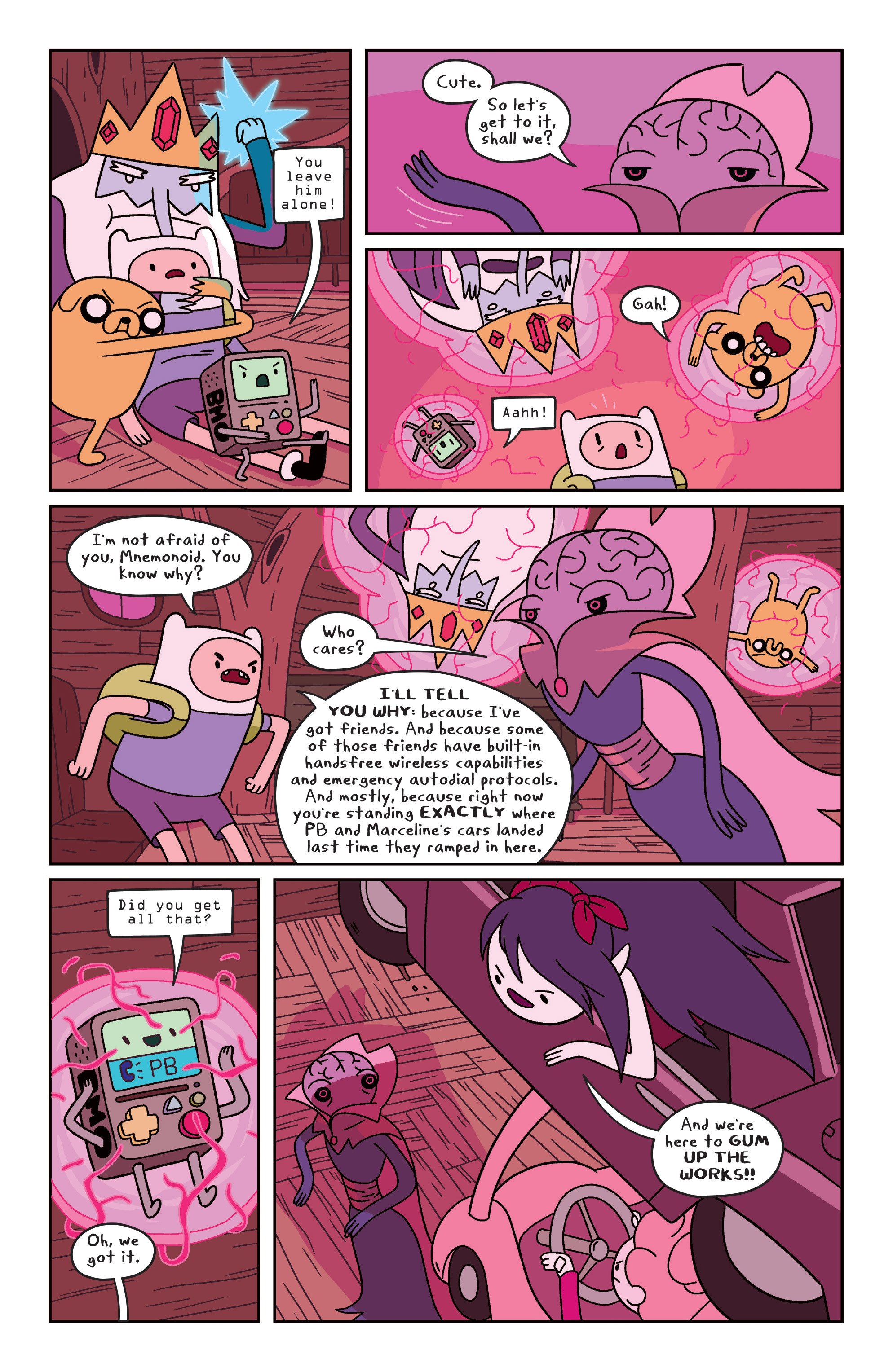 Read online Adventure Time comic -  Issue #31 - 16