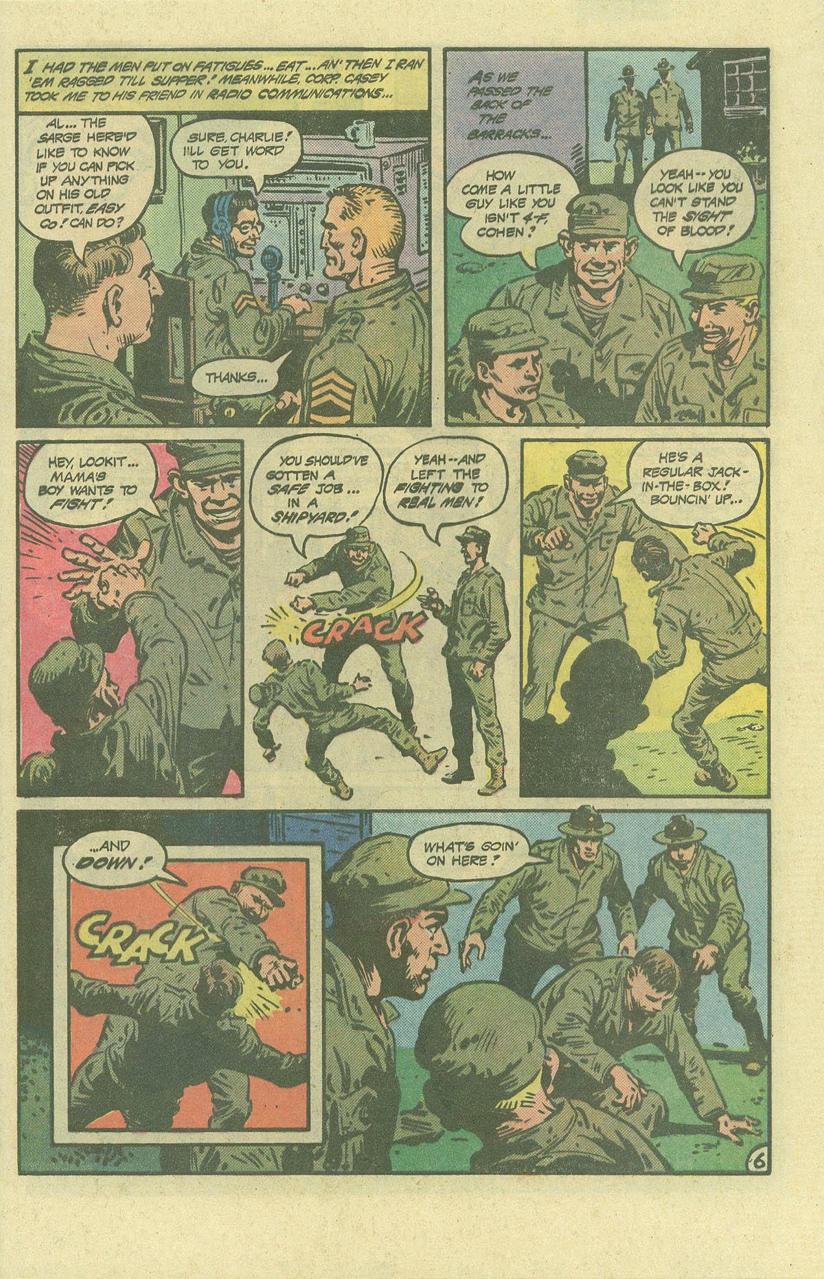 Read online Sgt. Rock comic -  Issue #392 - 6
