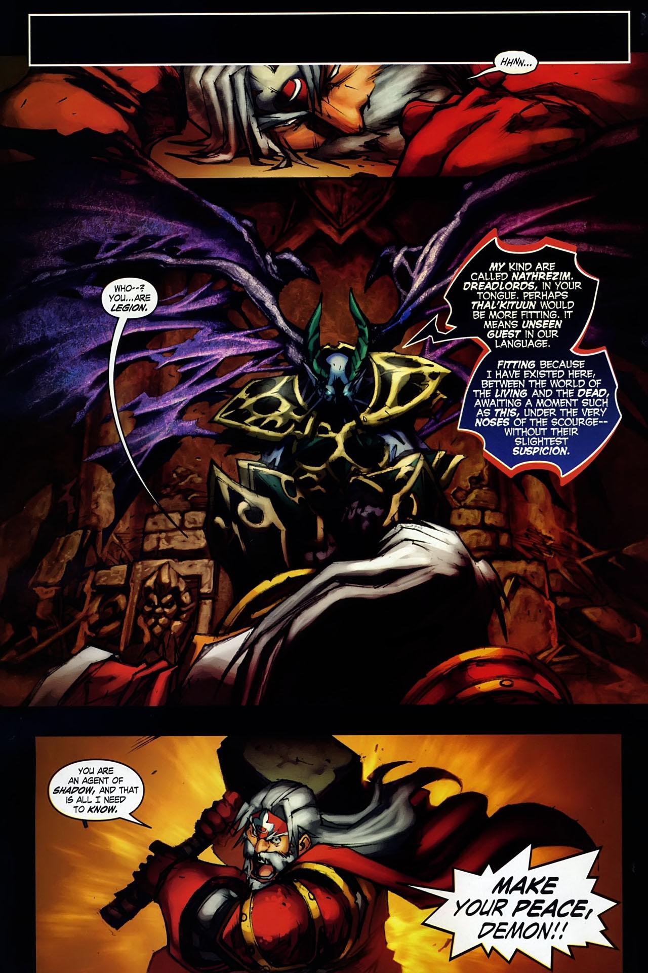 Read online World of Warcraft: Ashbringer comic -  Issue #1 - 22