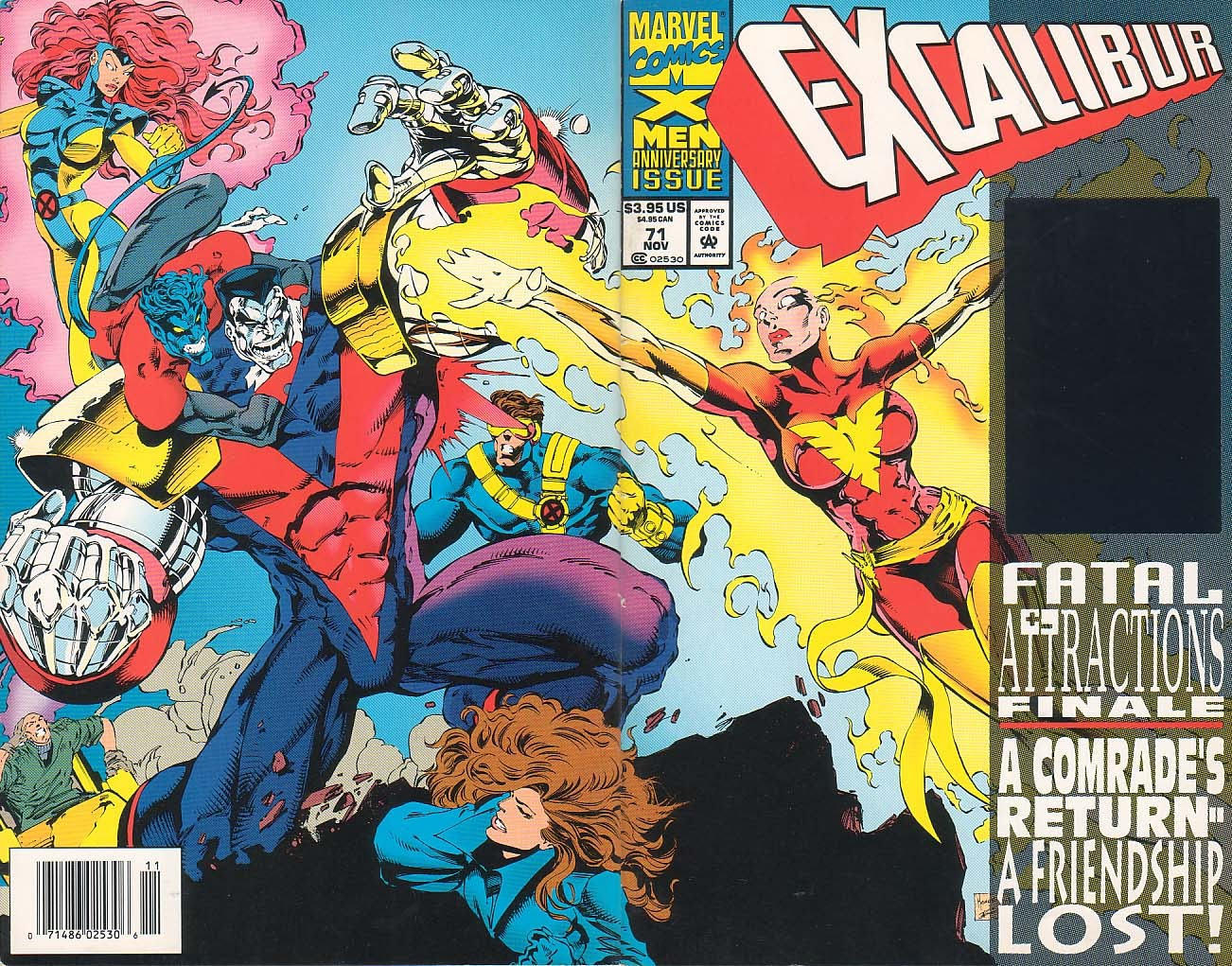 Excalibur (1988) issue 71 - Page 1