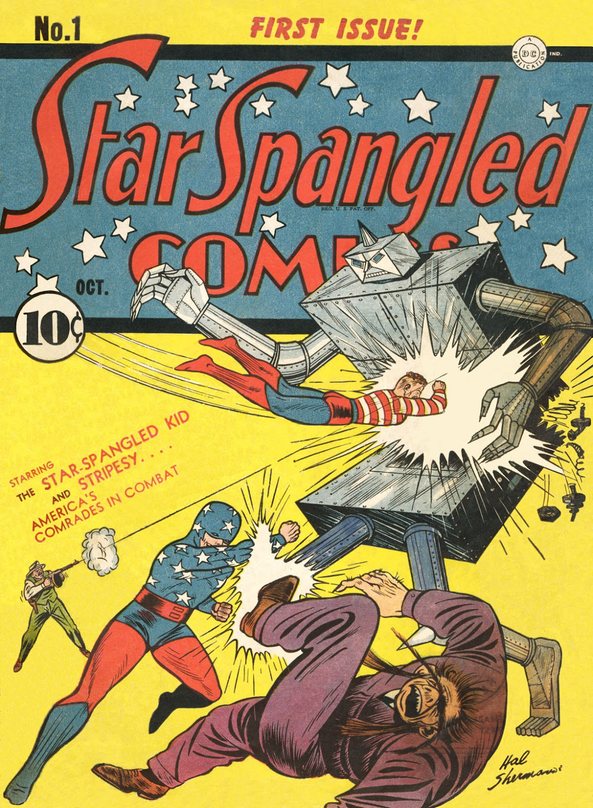 Star Spangled Comics (1941) issue 1 - Page 1