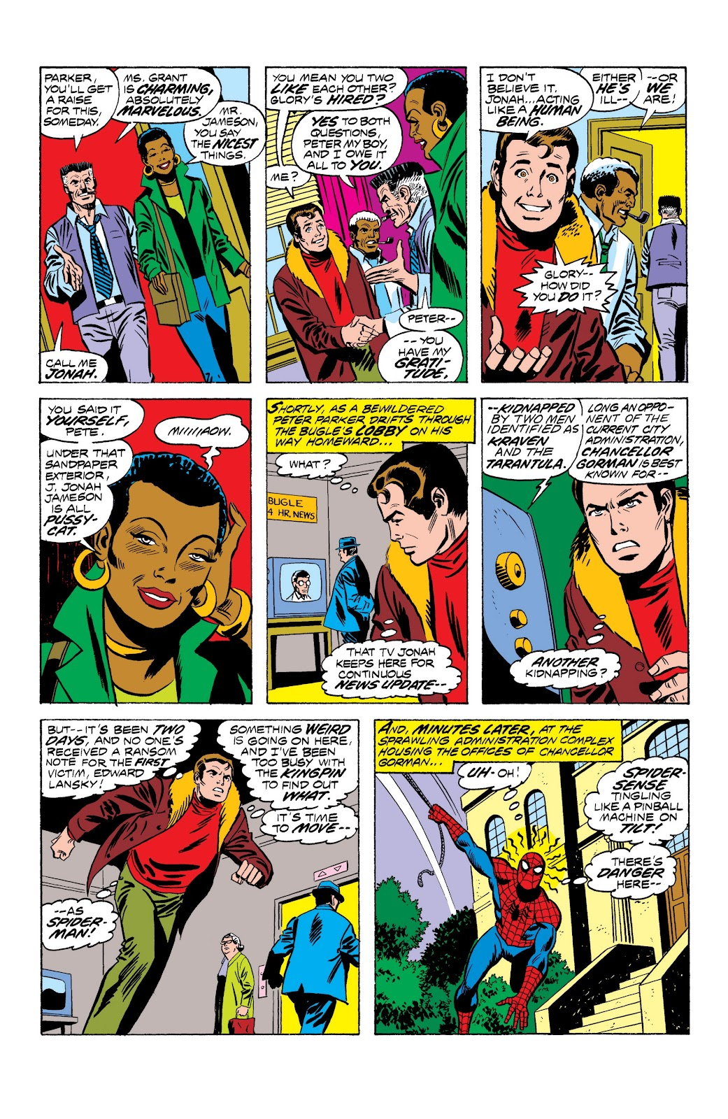 Read online Marvel Masterworks: The Spectacular Spider-Man comic -  Issue # TPB (Part 1) - 37