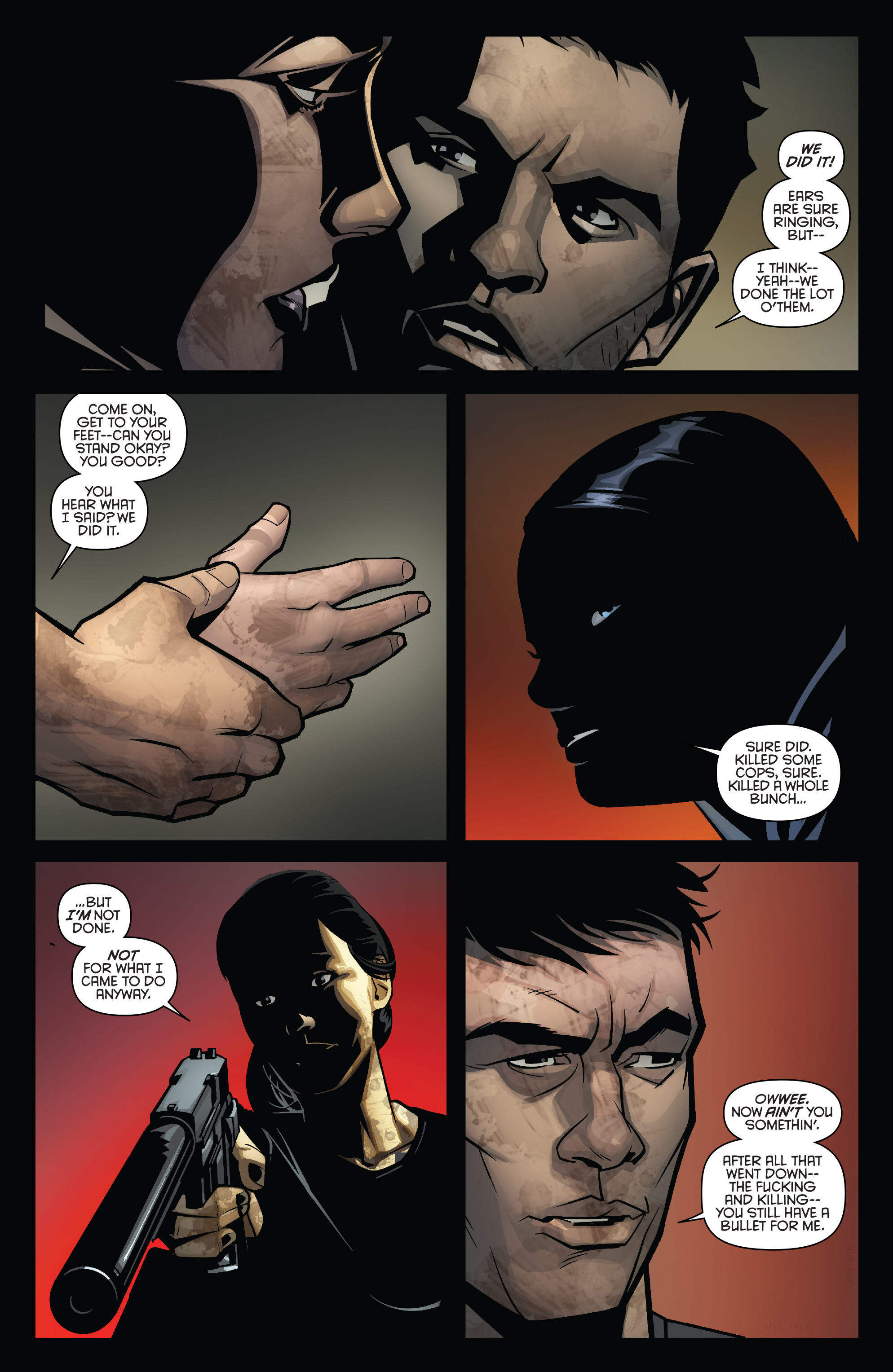 Read online Grand Passion comic -  Issue #5 - 6