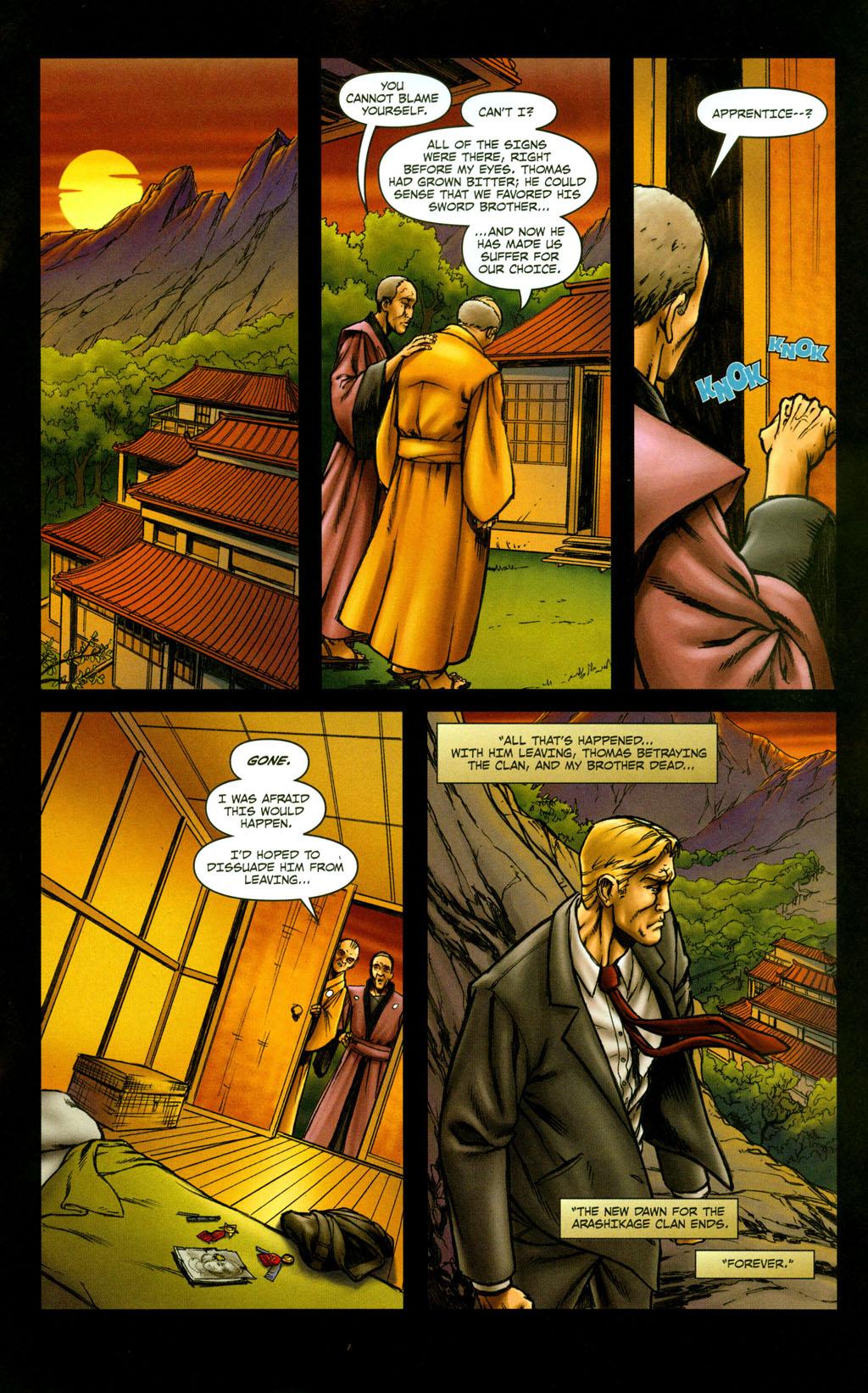 Read online Snake Eyes: Declassified comic -  Issue #5 - 13