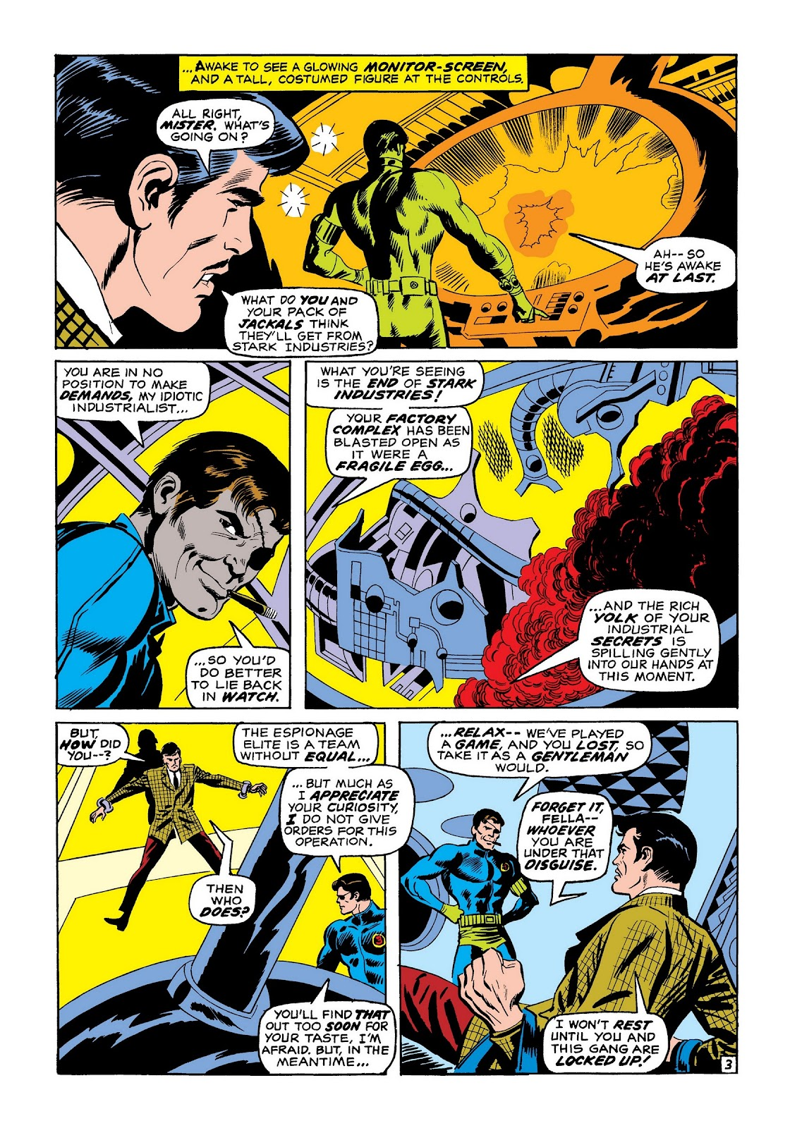 Read online Marvel Masterworks: The Invincible Iron Man comic -  Issue # TPB 7 (Part 2) - 72