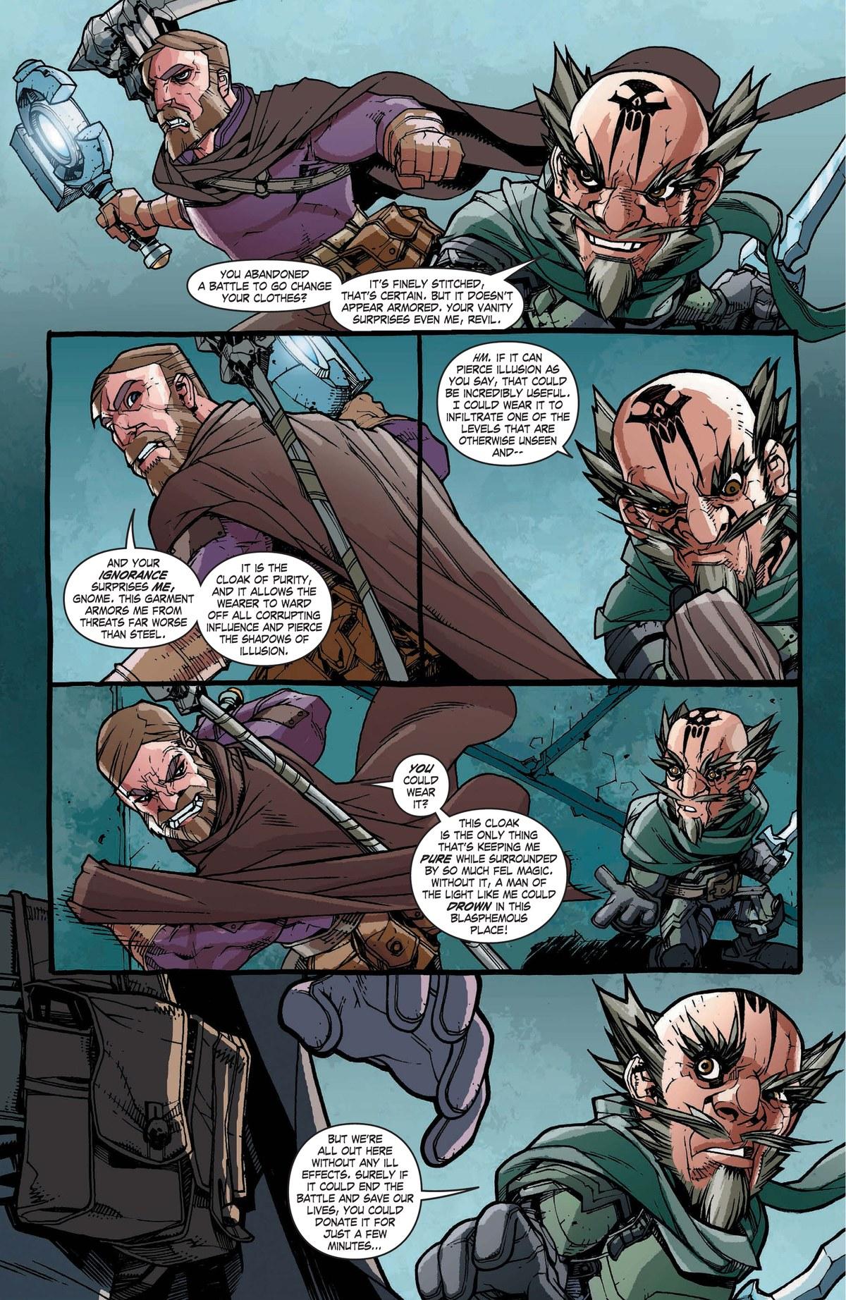 Read online World of Warcraft: Dark Riders comic -  Issue # Full - 114