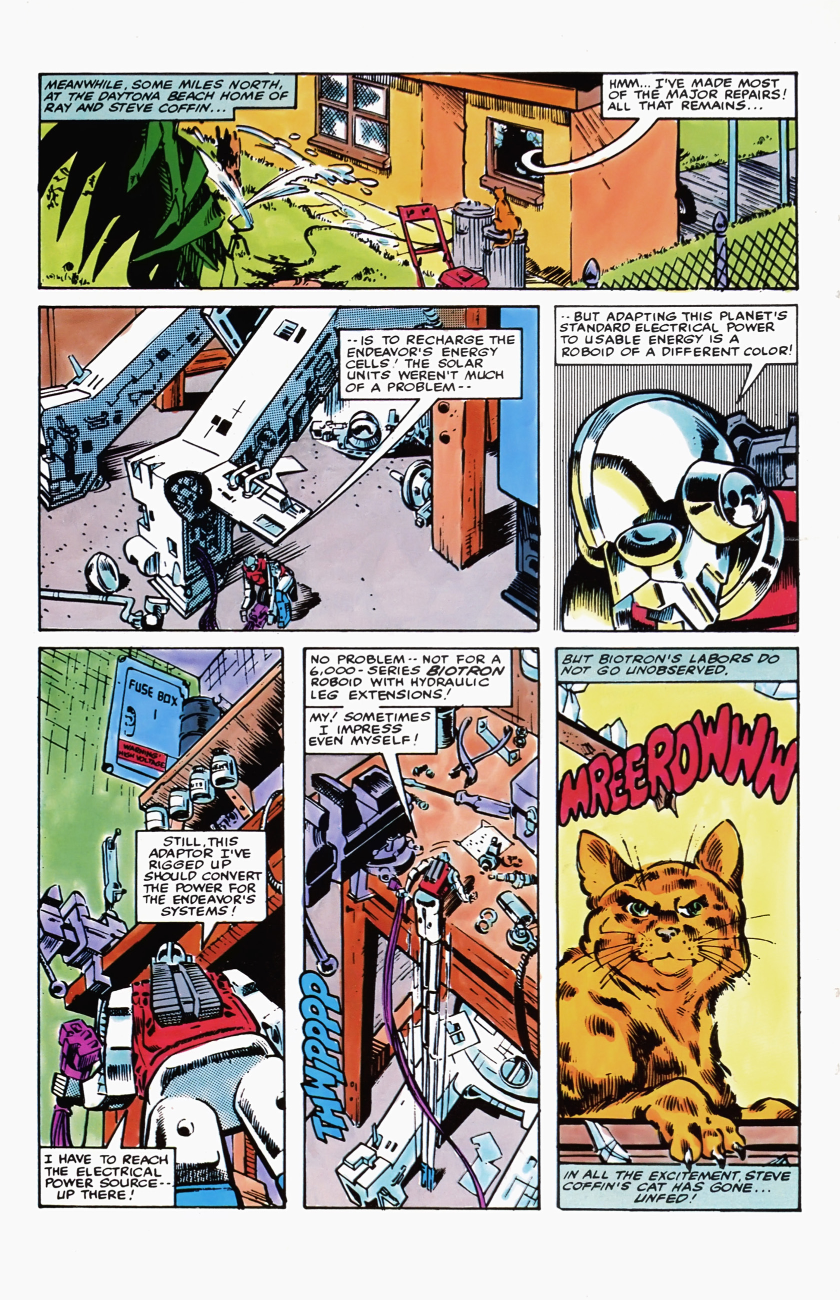 Micronauts 1979 5 Read Issue Online All Cartoon Electrical Fuse Box Page 4