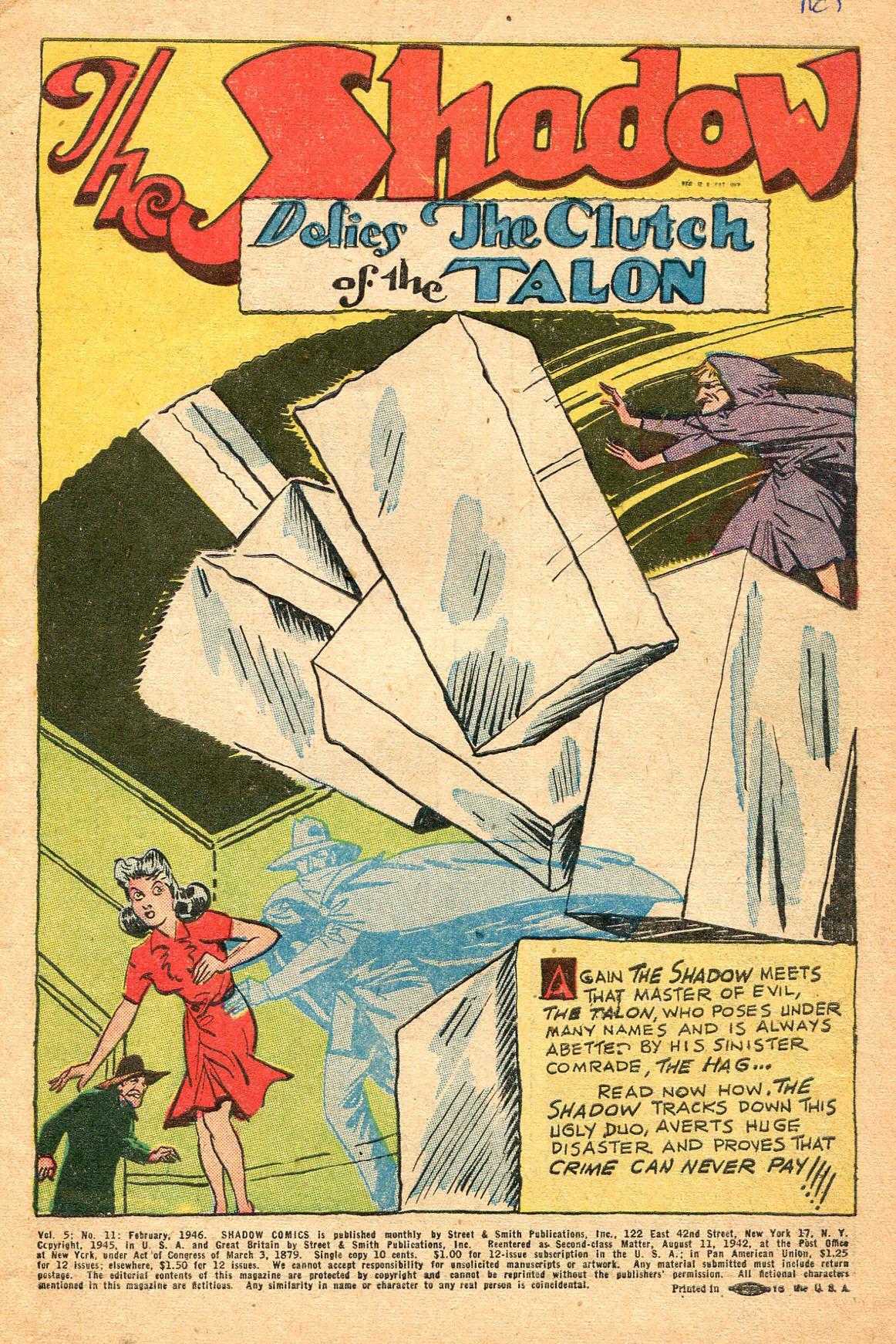 Read online Shadow Comics comic -  Issue #60 - 3