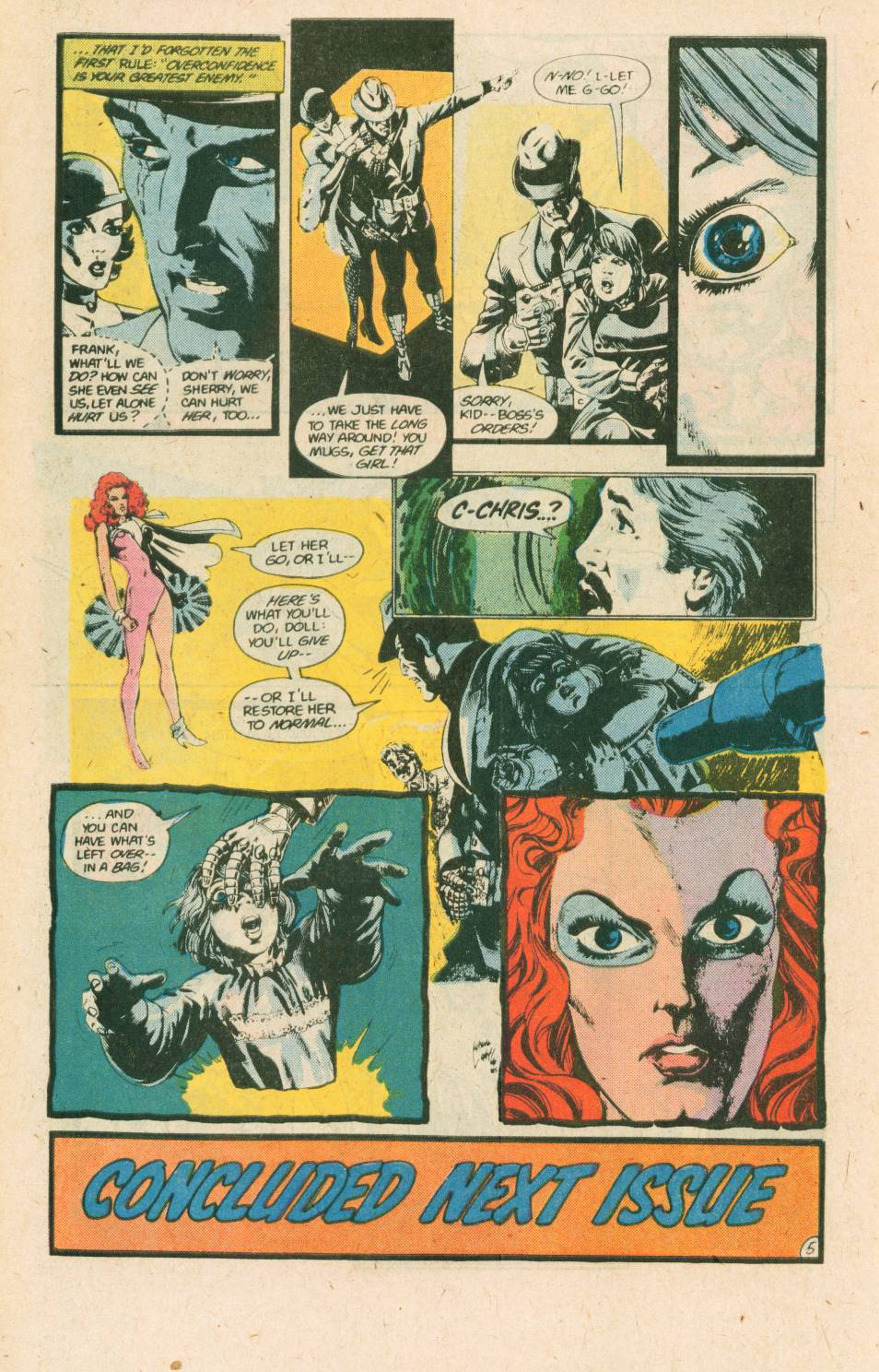 Read online Adventures of the Outsiders comic -  Issue #40 - 28