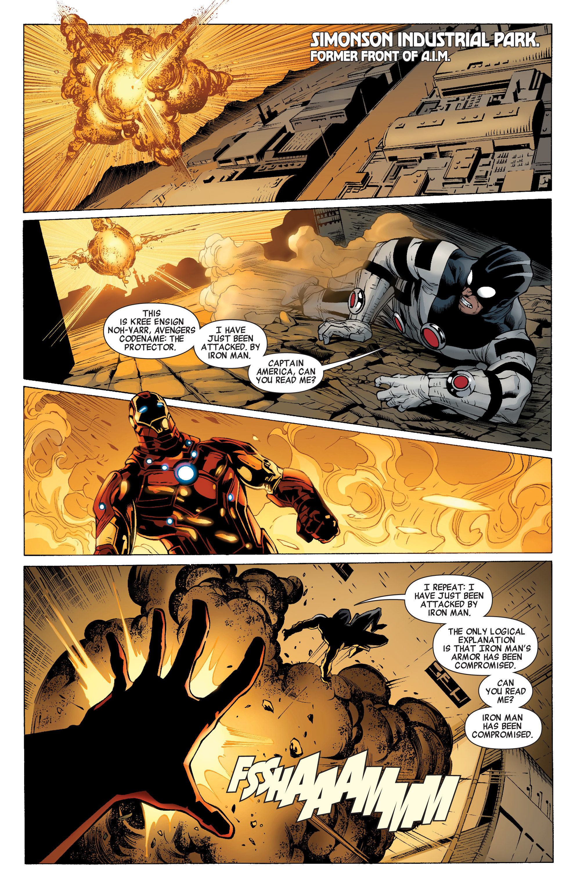 Read online Avengers (2010) comic -  Issue #21 - 9