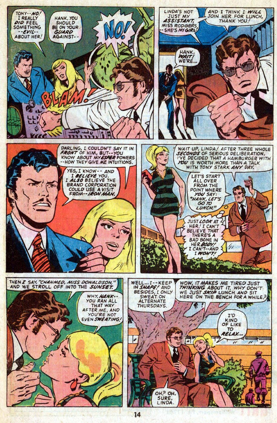 The Avengers (1963) 136 Page 8
