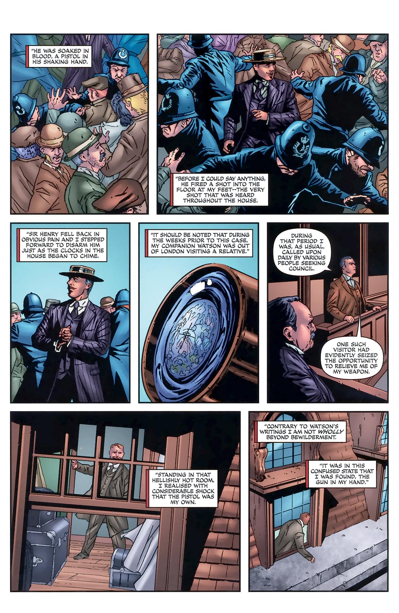 Read online Sherlock Holmes (2009) comic -  Issue #5 - 19