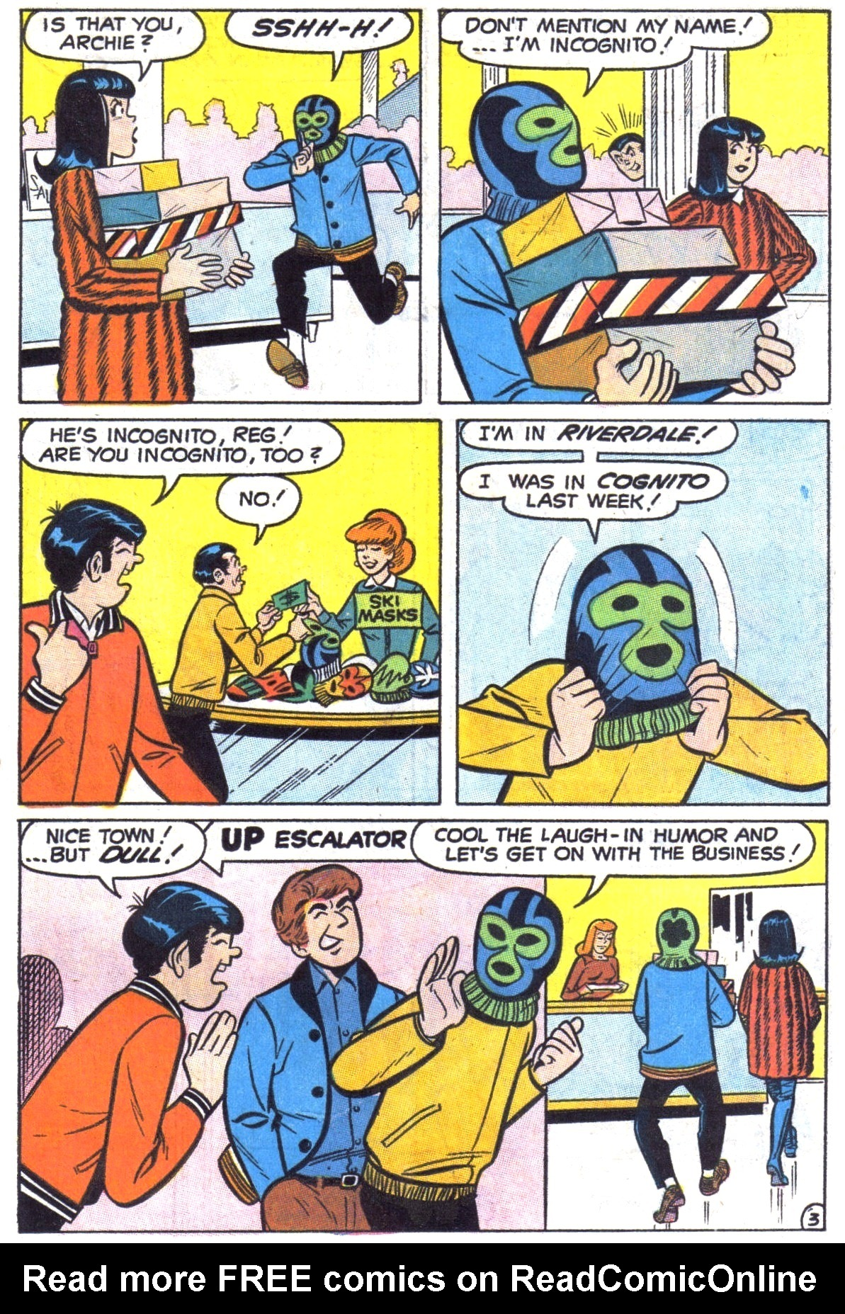 Read online Archie (1960) comic -  Issue #190 - 15
