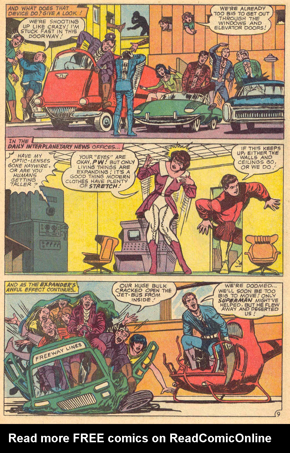 Read online Action Comics (1938) comic -  Issue #339 - 10