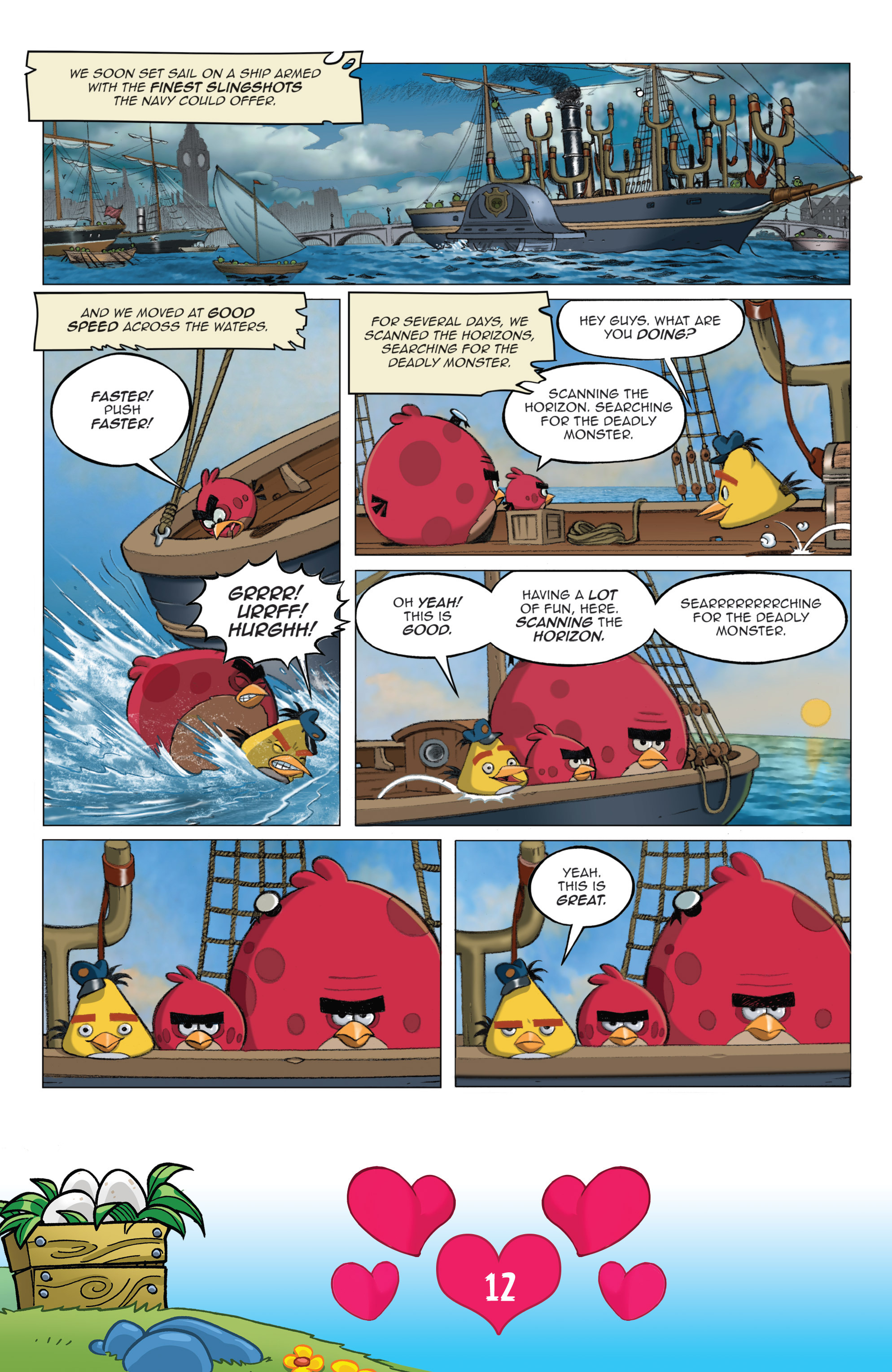 Read online Angry Birds Comics (2016) comic -  Issue #2 - 14