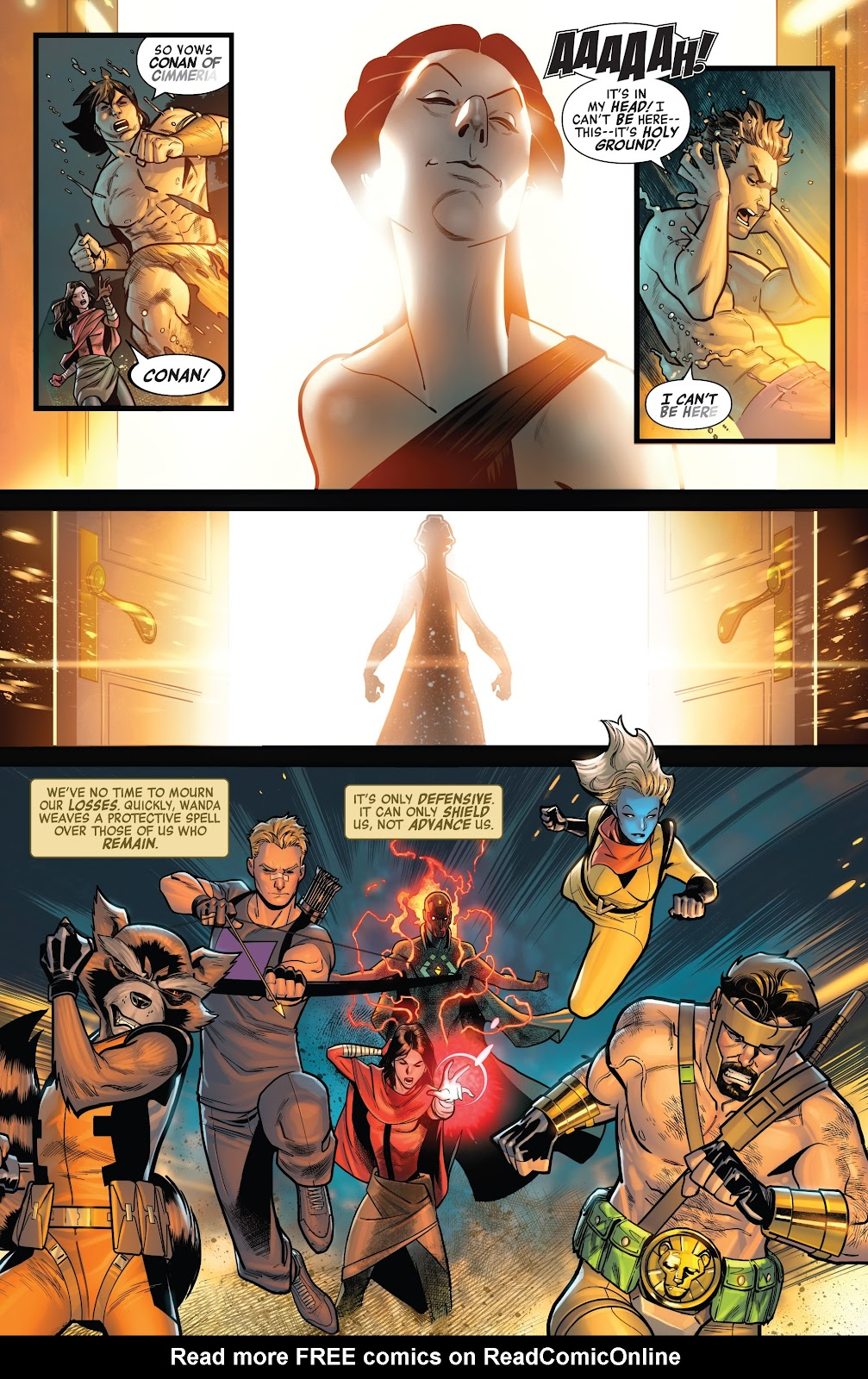 Read online Avengers No Road Home comic -  Issue #9 - 20