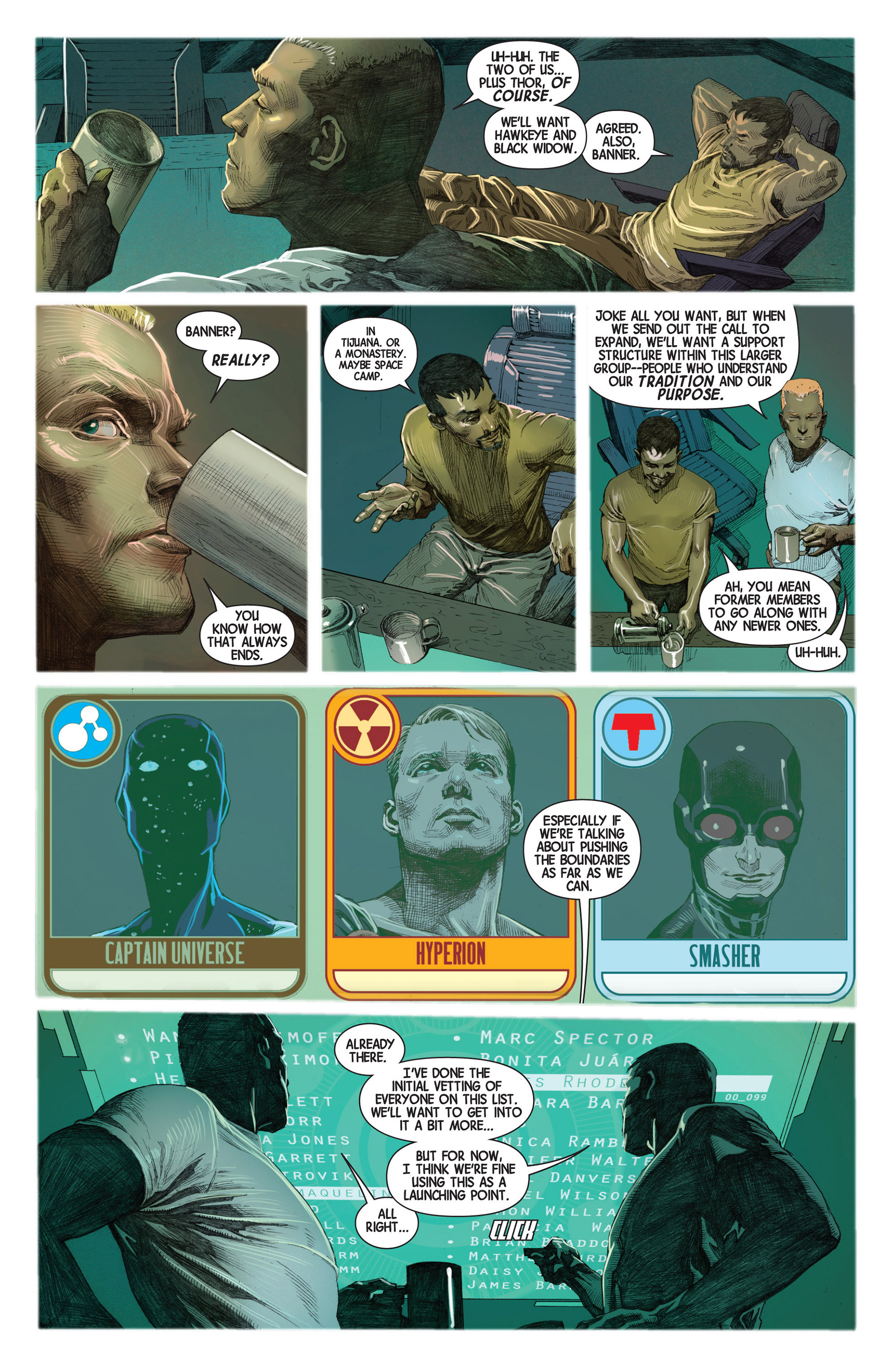 Read online Avengers (2013) comic -  Issue #2 - 11