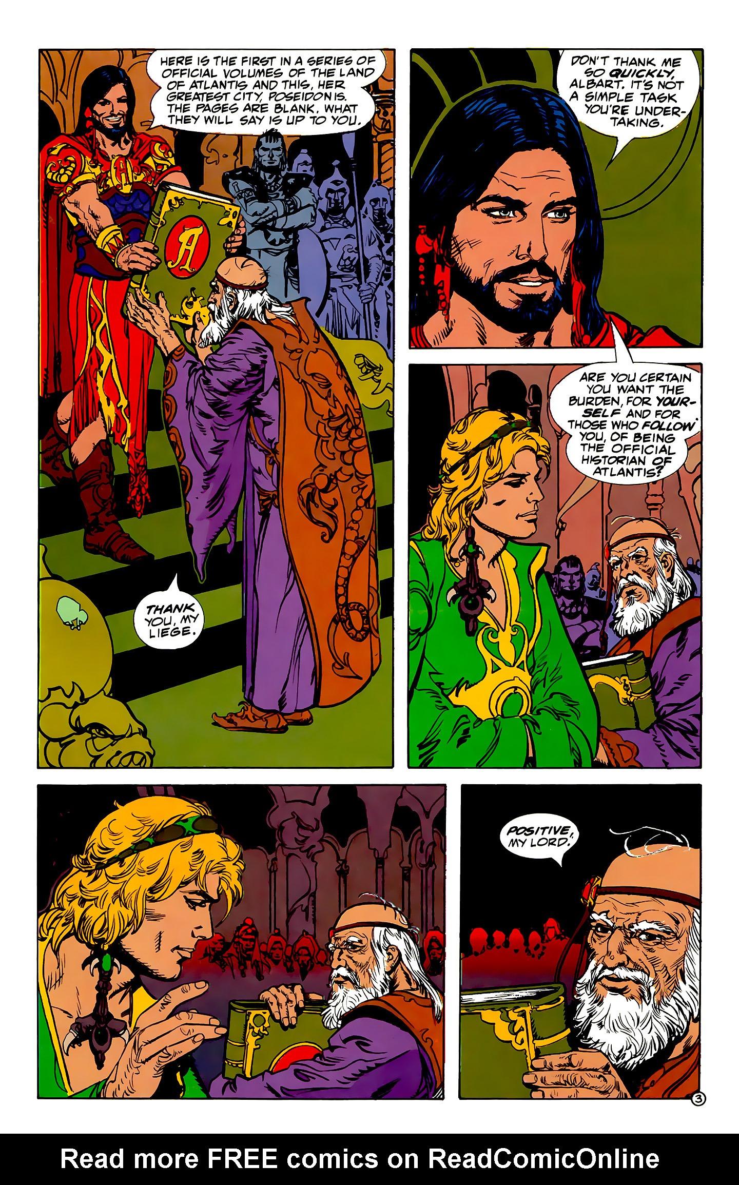 Read online Atlantis Chronicles comic -  Issue #1 - 4