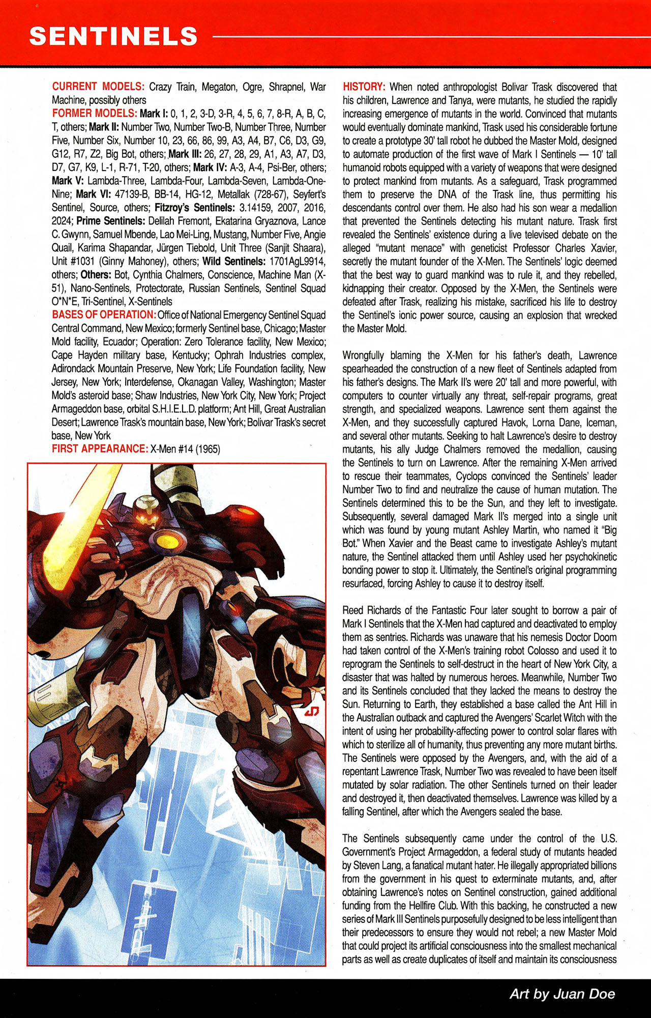 Read online All-New Official Handbook of the Marvel Universe A to Z comic -  Issue #9 - 56
