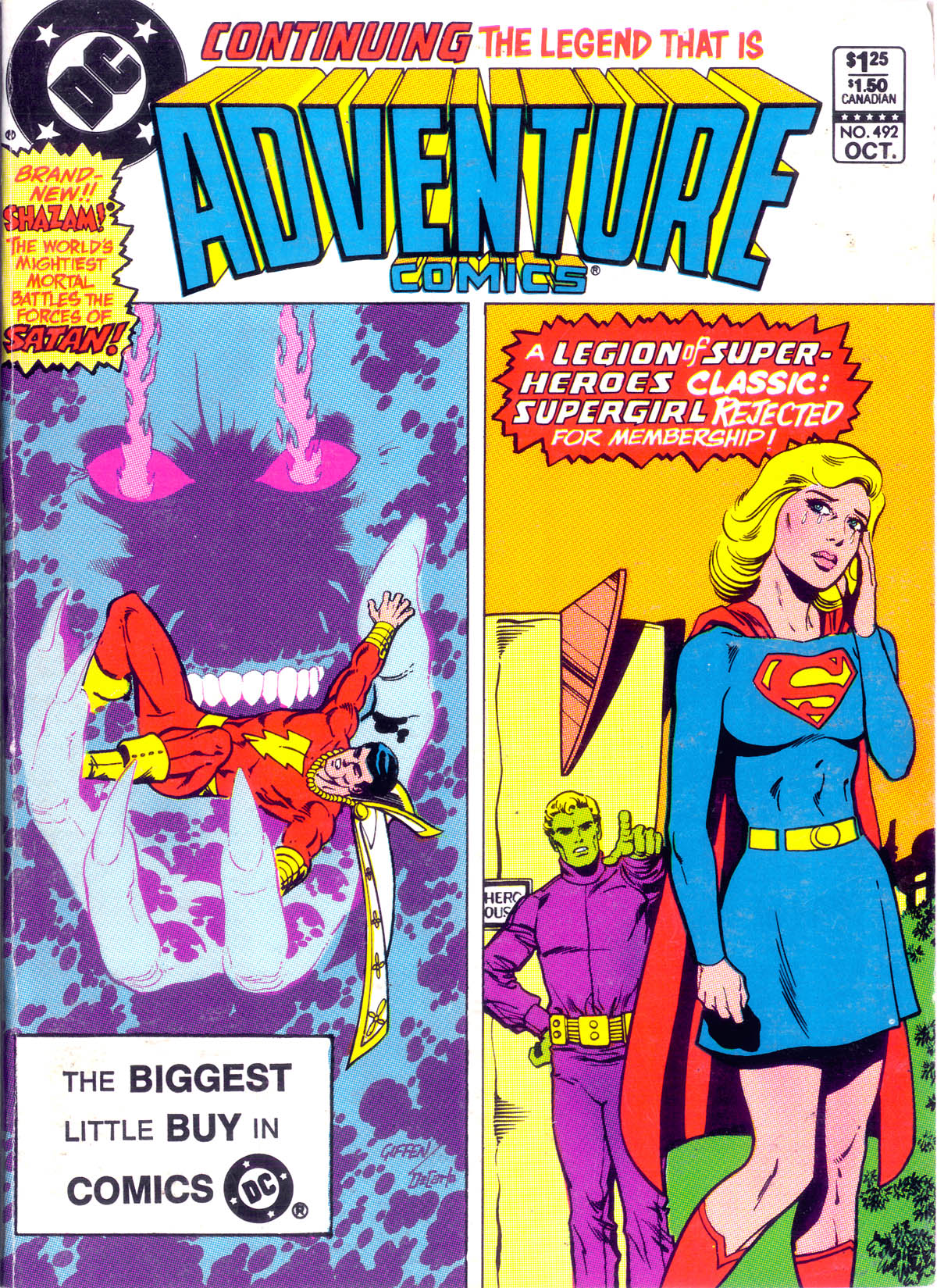 Read online Adventure Comics (1938) comic -  Issue #492 - 1