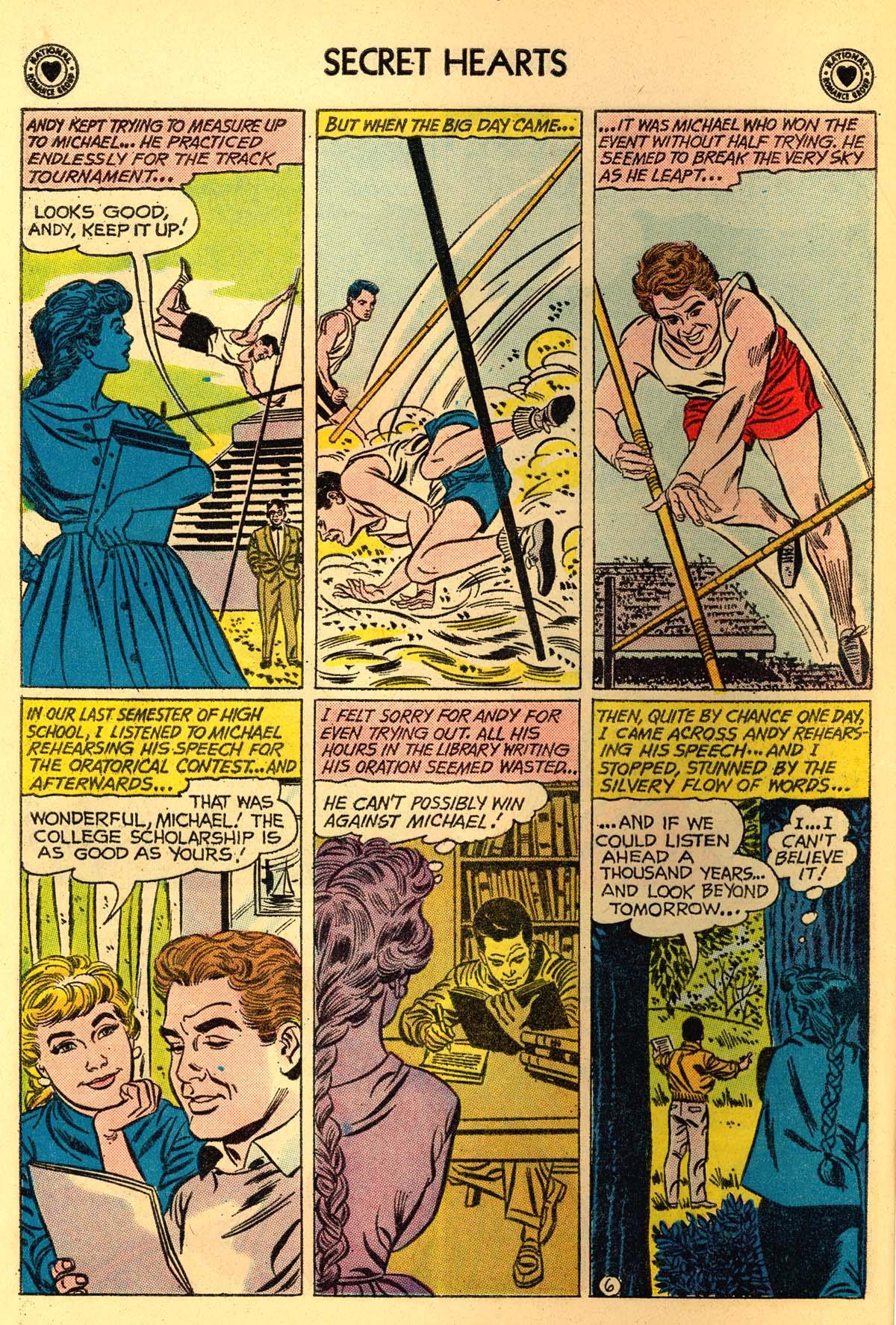 Read online Secret Hearts comic -  Issue #66 - 8
