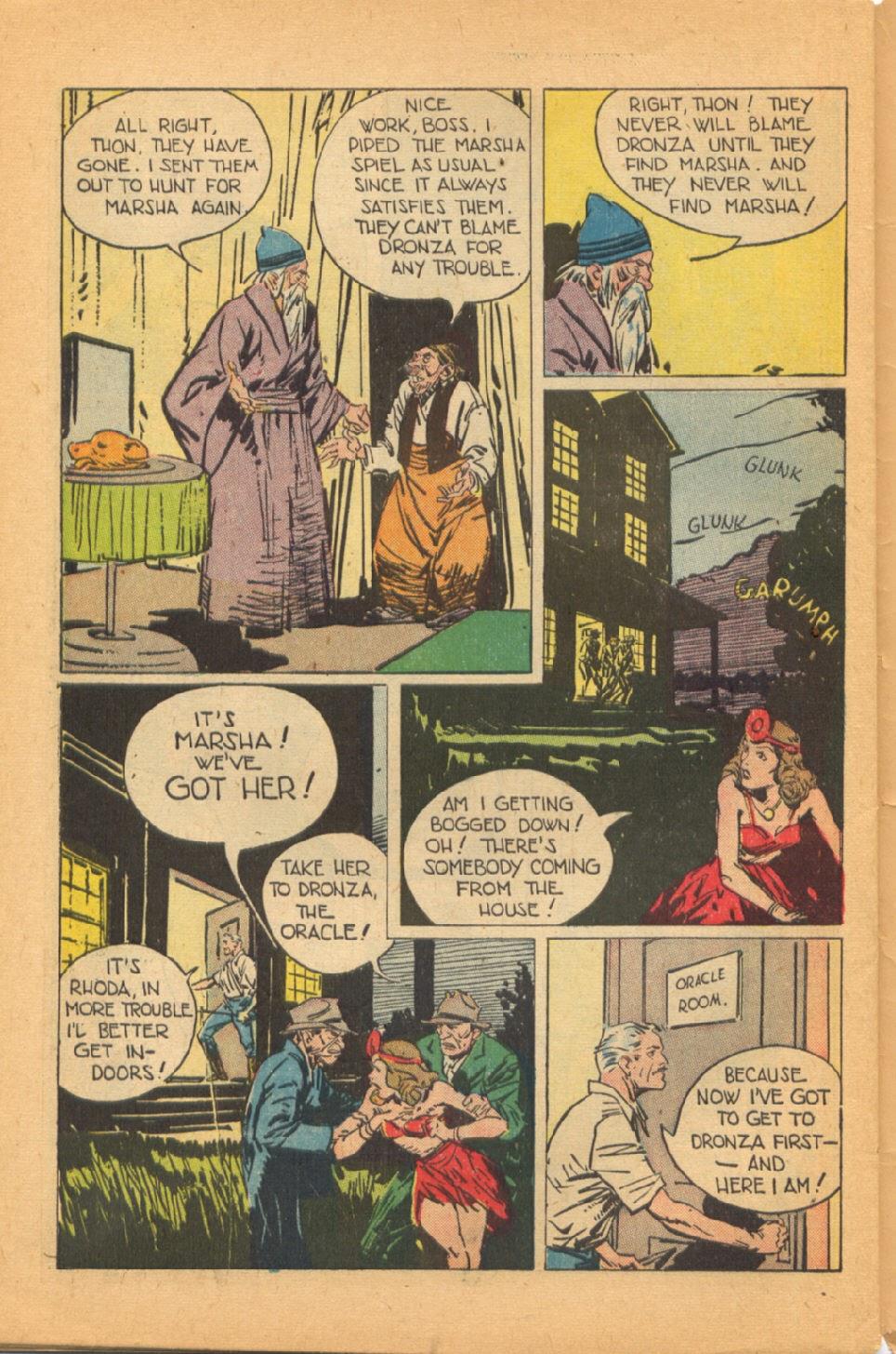 Read online Super-Magician Comics comic -  Issue #44 - 48