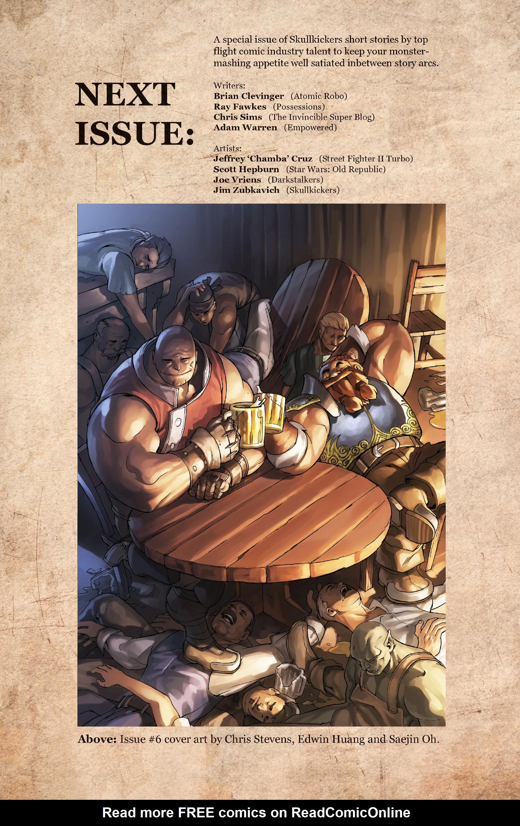 Read online Skullkickers comic -  Issue #5 - 27