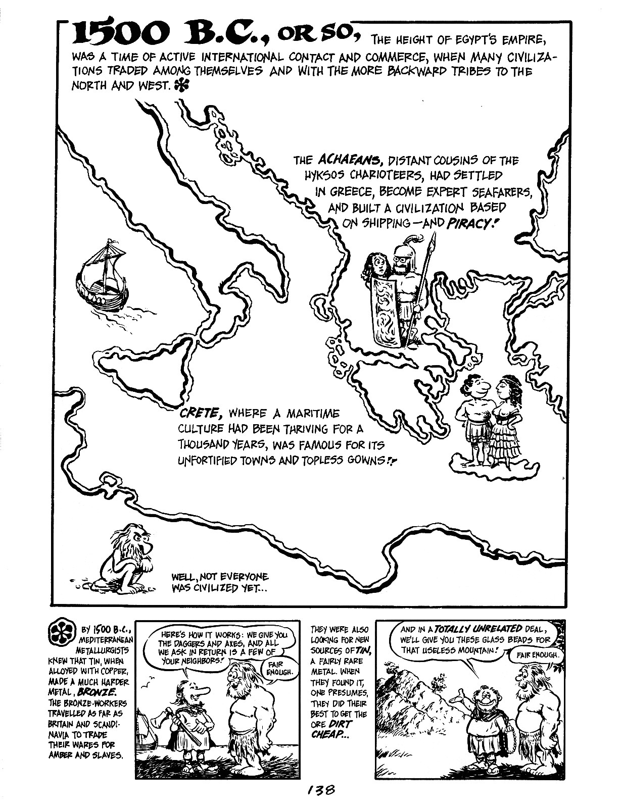 Read online The Cartoon History of the Universe comic -  Issue #3 - 38