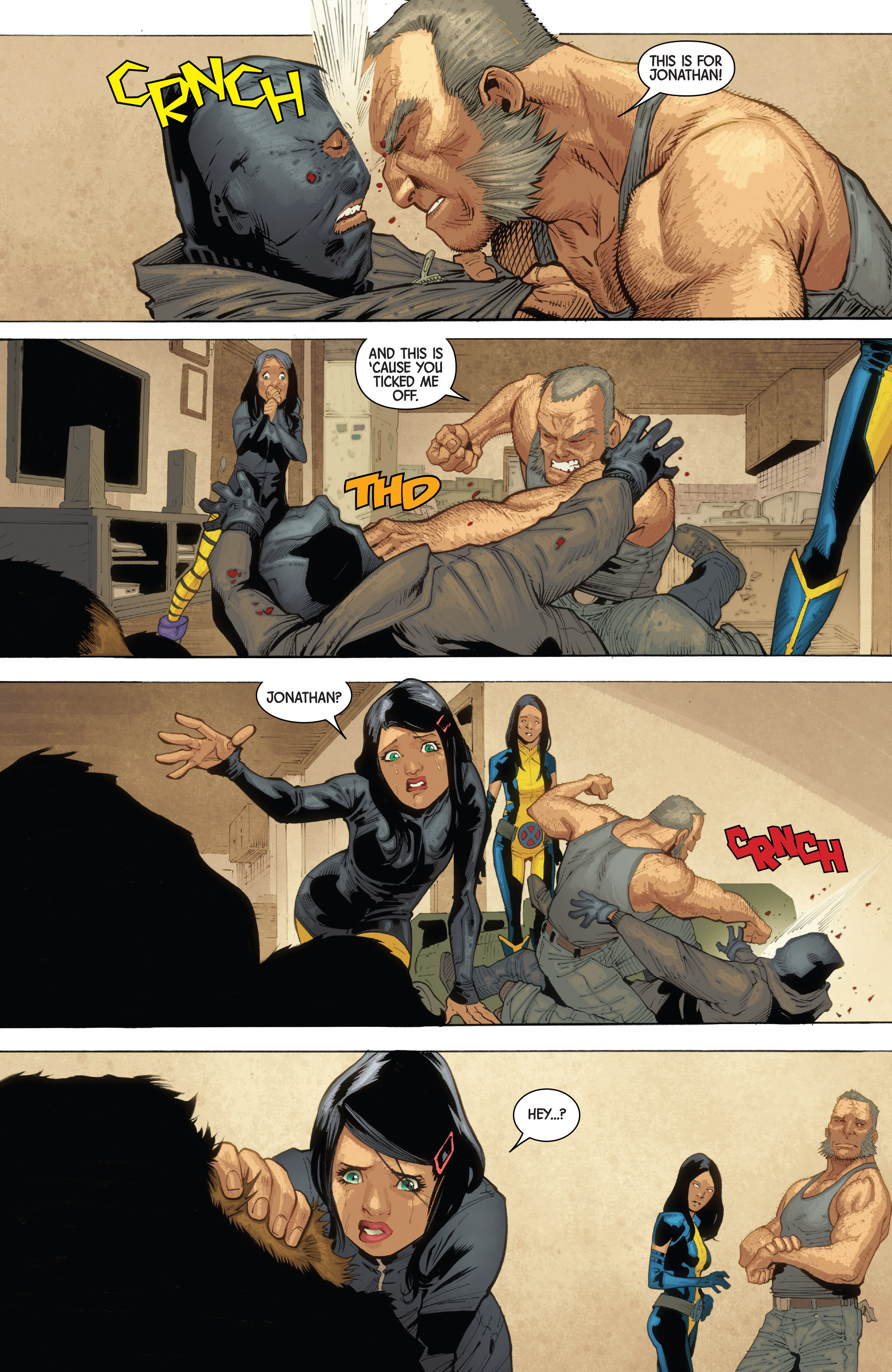 Read online All-New Wolverine (2016) comic -  Issue #10 - 21