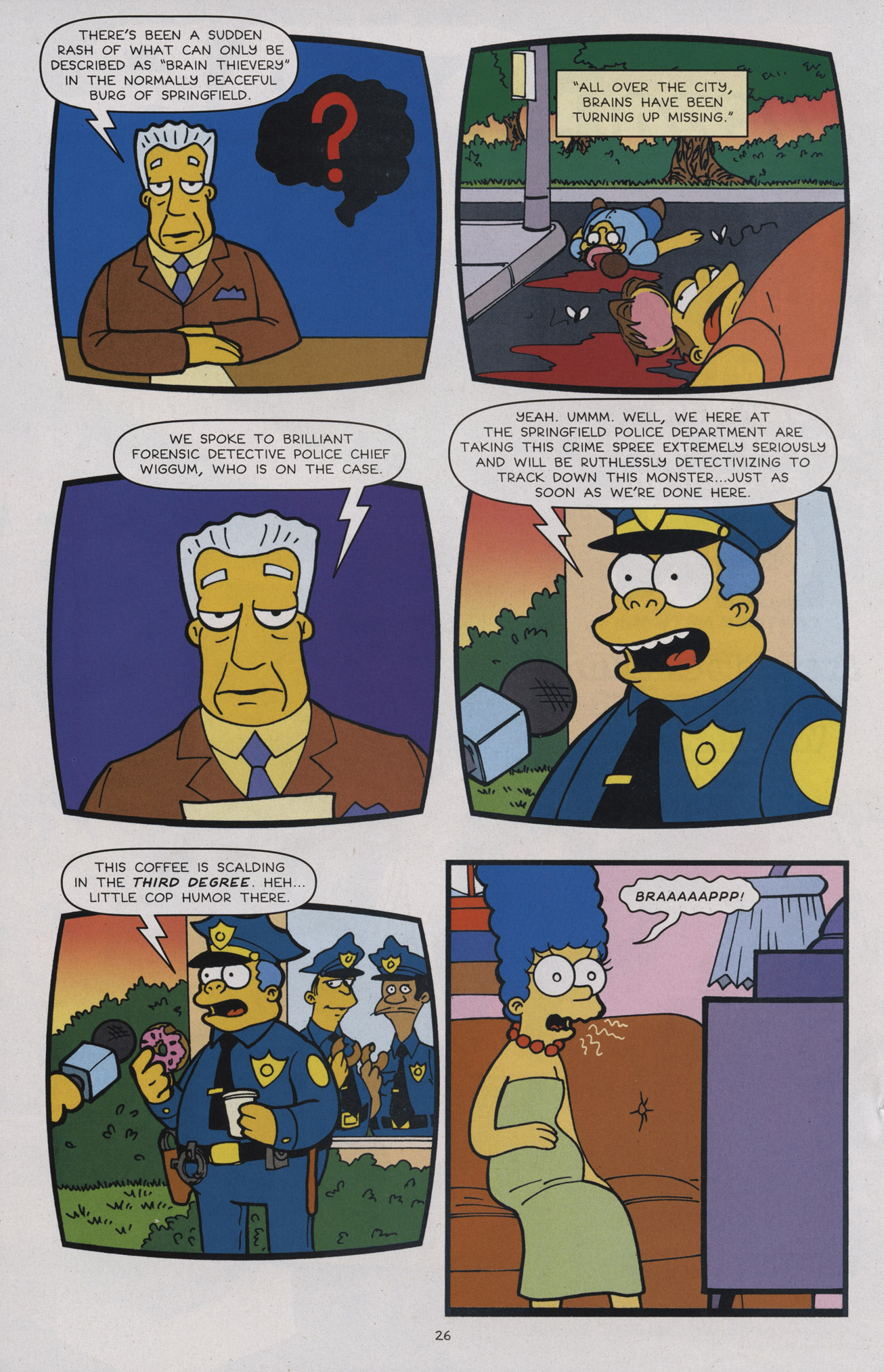 Read online Treehouse of Horror comic -  Issue #17 - 27