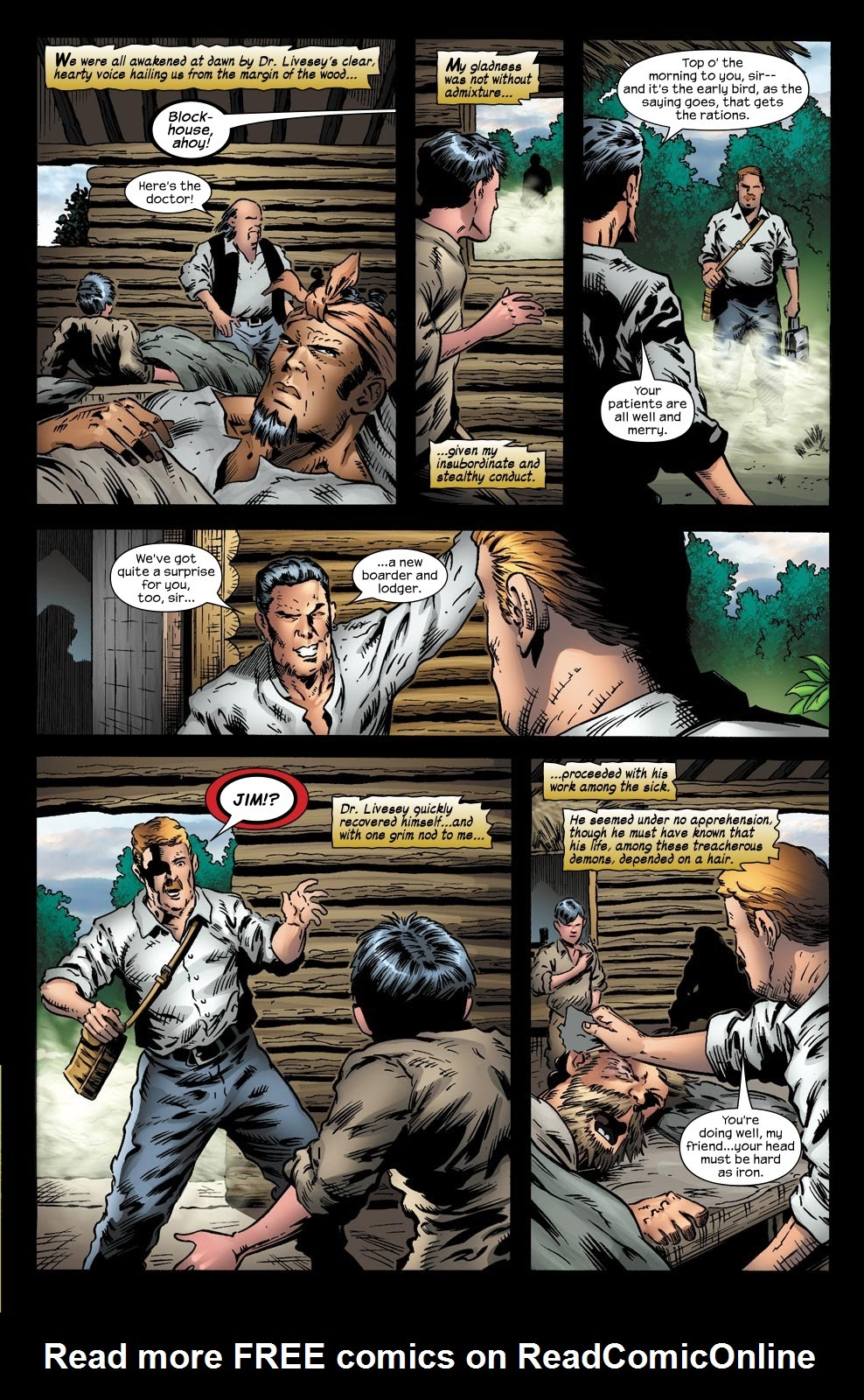 Read online Treasure Island comic -  Issue #5 - 16