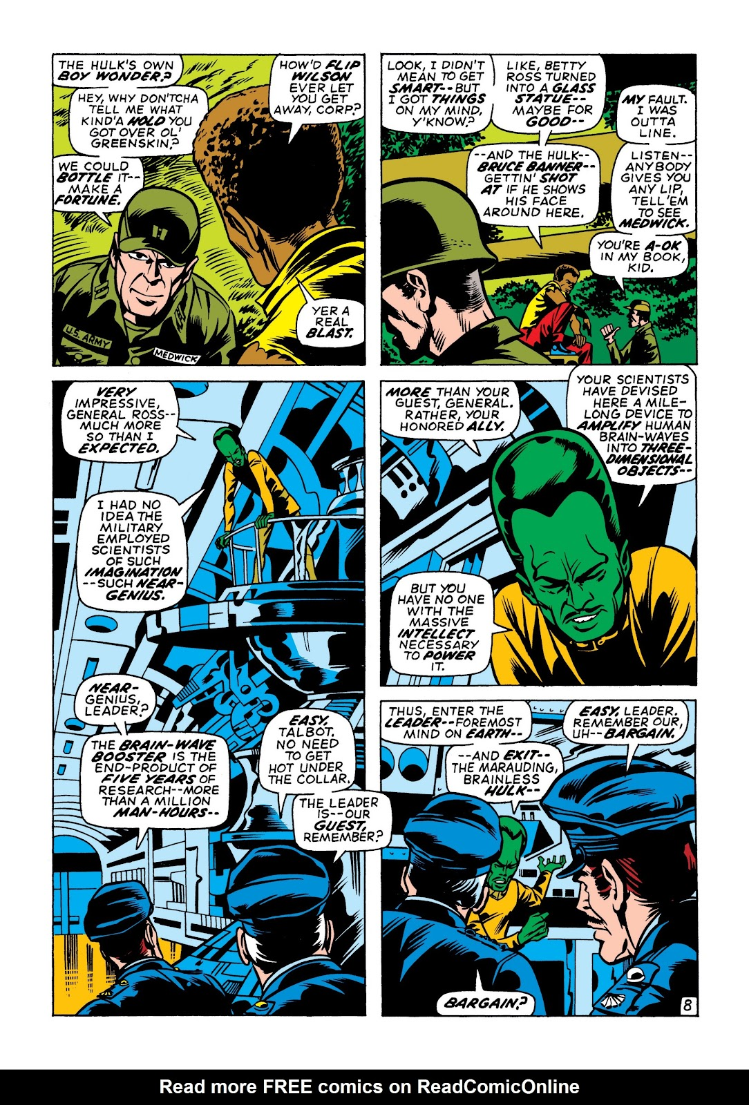 Read online Marvel Masterworks: The Incredible Hulk comic -  Issue # TPB 7 (Part 1) - 95
