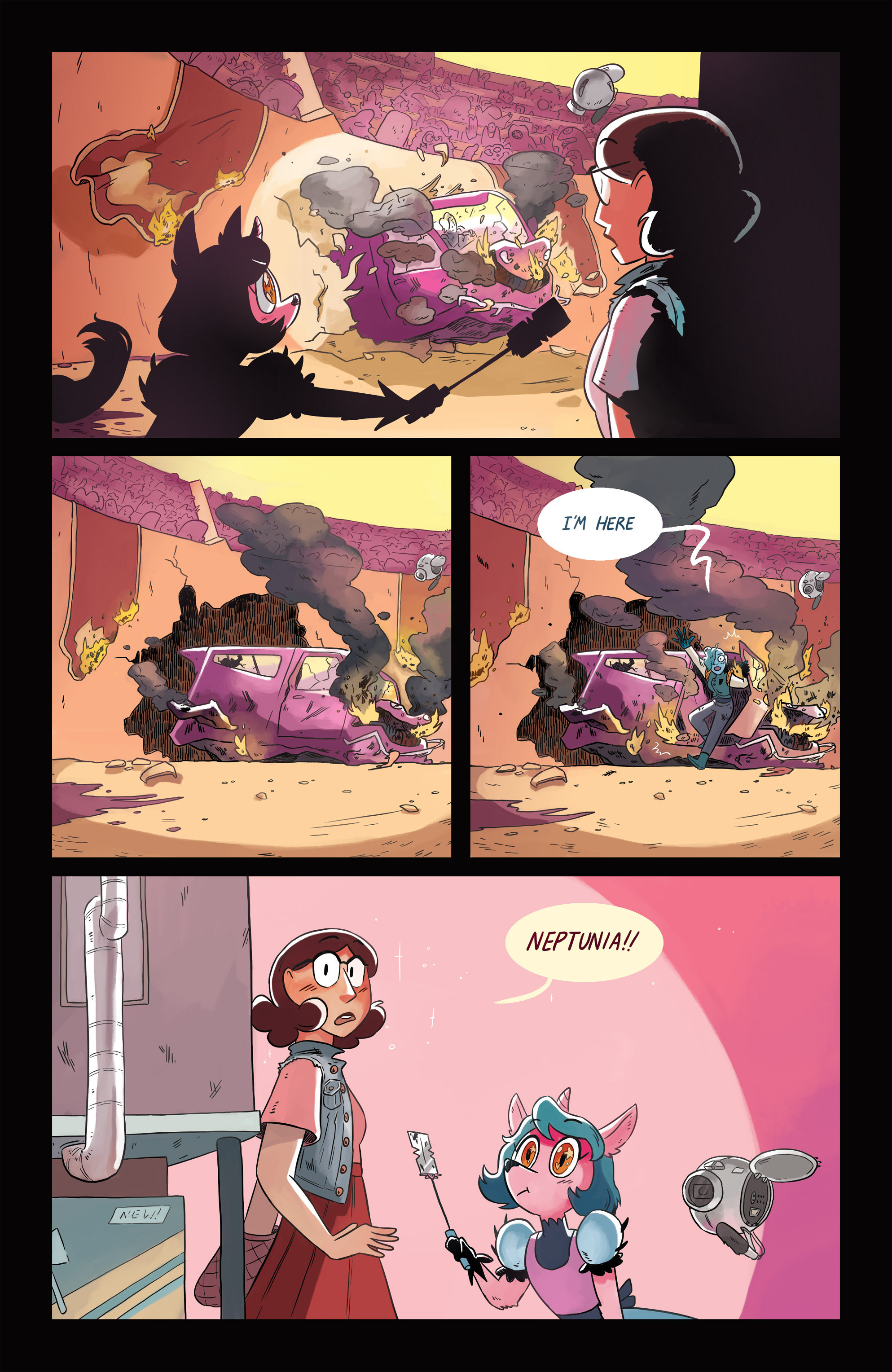 Read online Space Battle Lunchtime comic -  Issue #6 - 20