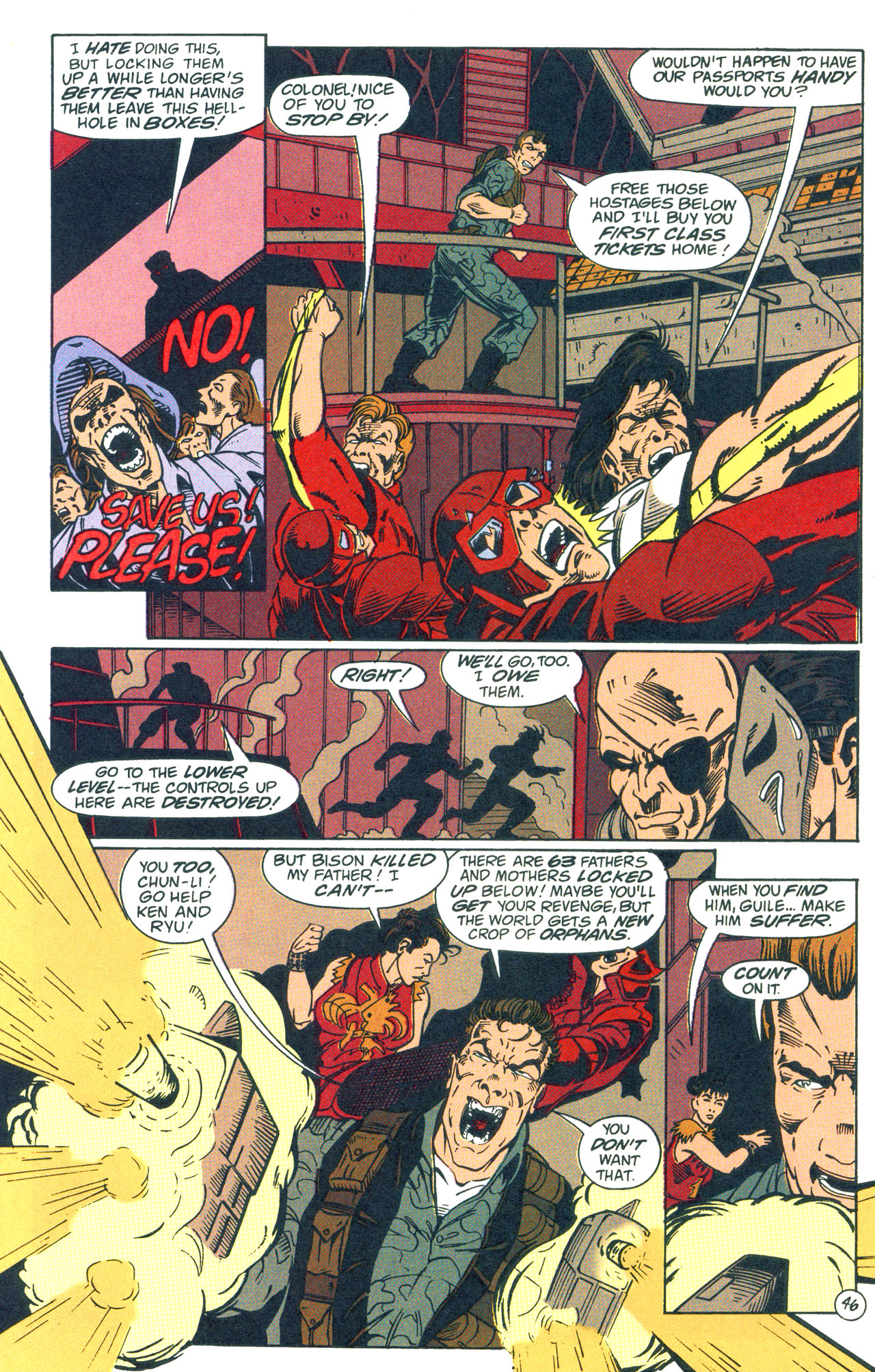 Read online Street Fighter: The Battle For Shadaloo comic -  Issue # Full - 47
