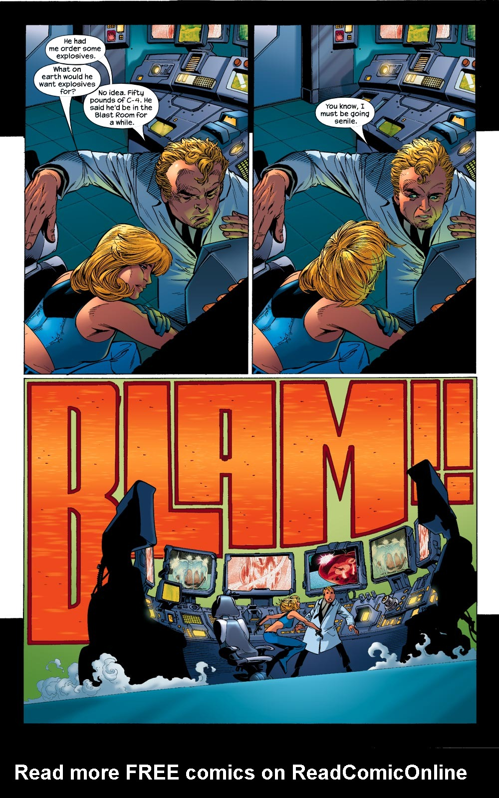 Read online Ultimate Fantastic Four (2004) comic -  Issue #13 - 18