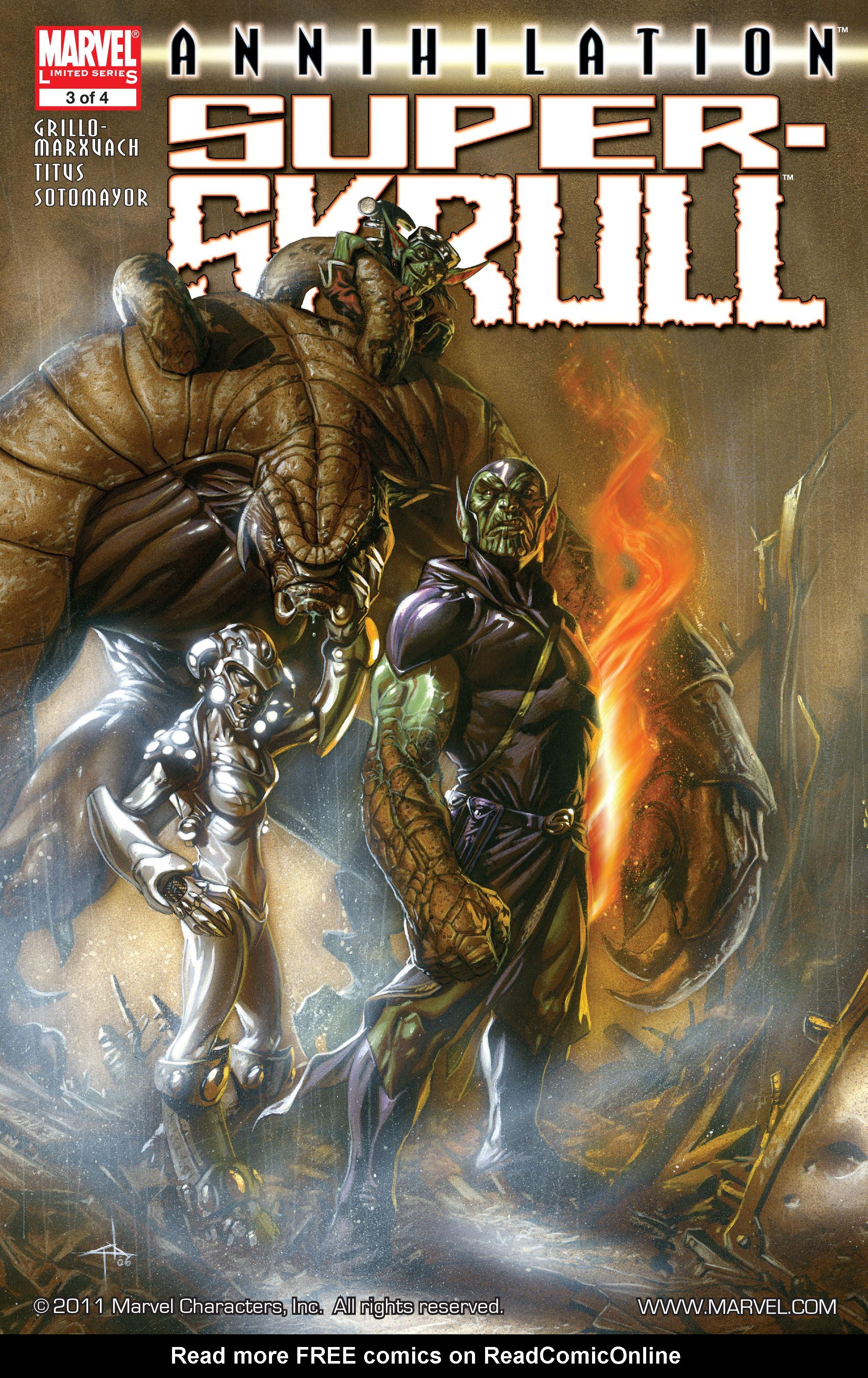 Read online Annihilation: Super-Skrull comic -  Issue #3 - 1