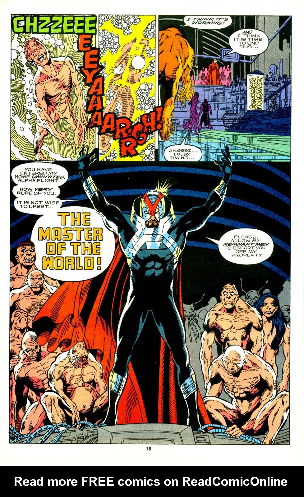 Read online Alpha Flight (1983) comic -  Issue #89 - 15