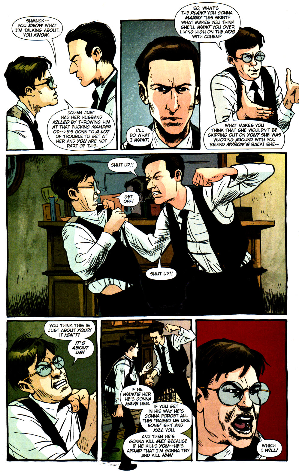 Read online Caper comic -  Issue #2 - 14