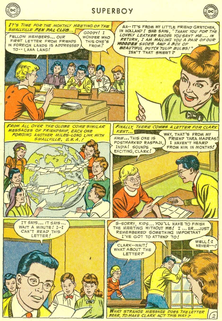 Comic Superboy (1949) issue 31